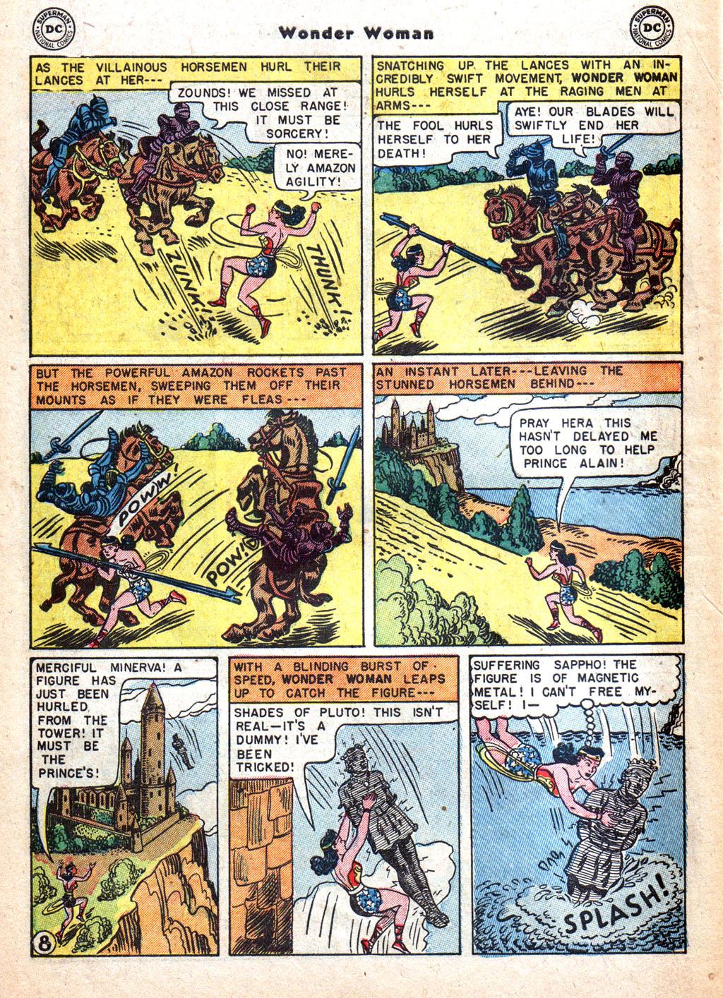 Read online Wonder Woman (1942) comic -  Issue #72 - 10