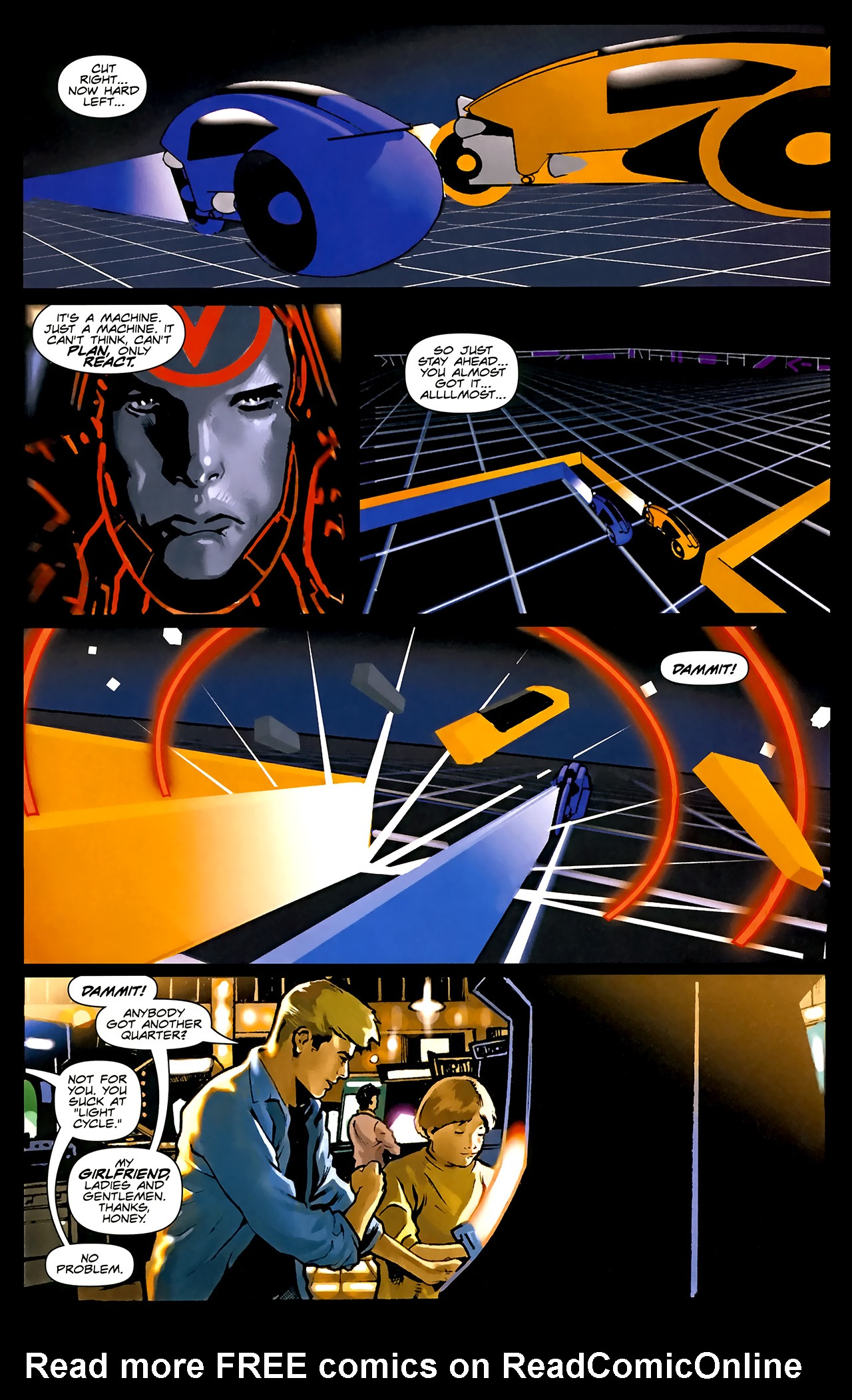 Read online TRON: Original Movie Adaptation comic -  Issue #1 - 7