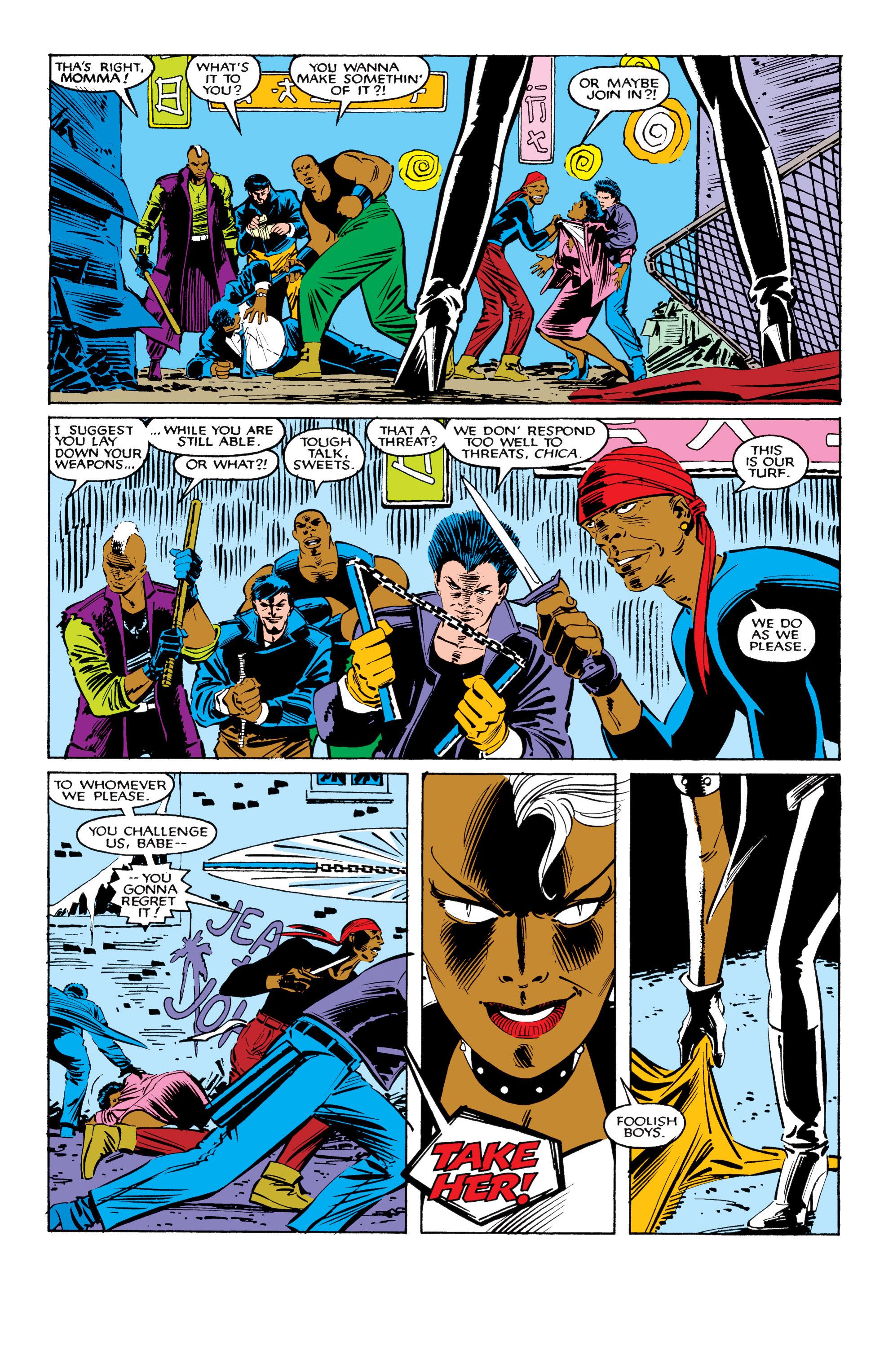 Read online Uncanny X-Men (1963) comic -  Issue #206 - 3