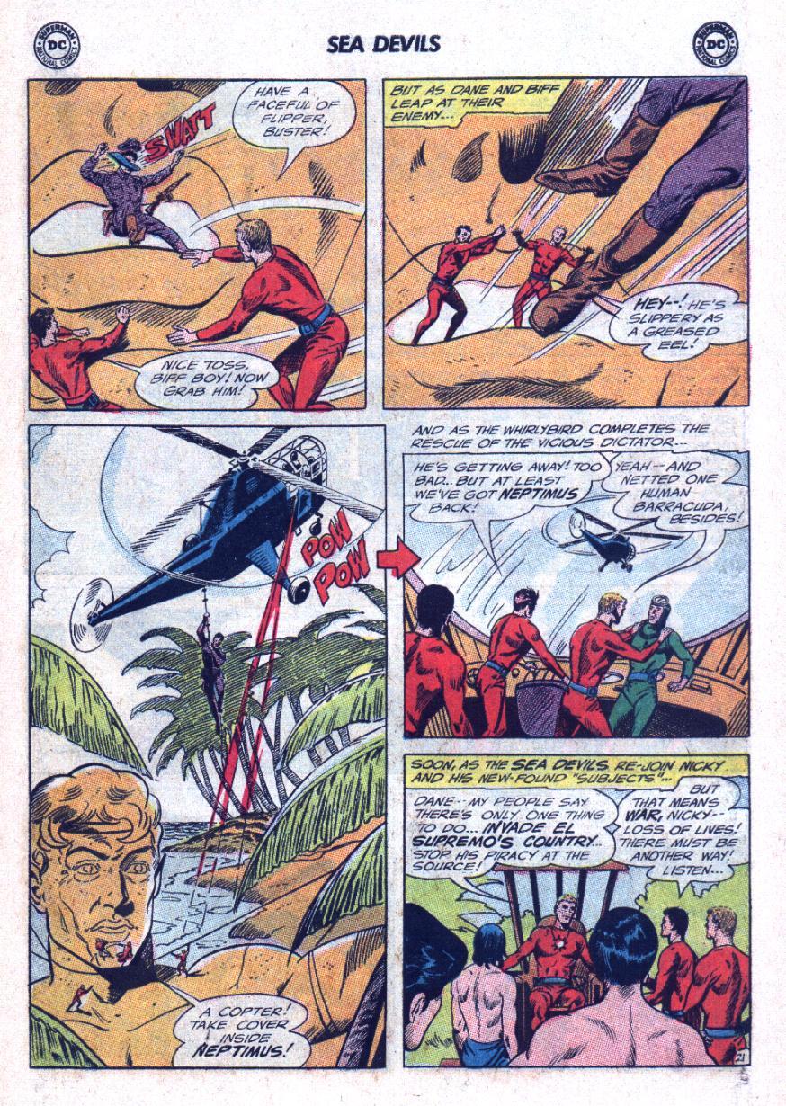 Read online Sea Devils comic -  Issue #25 - 28