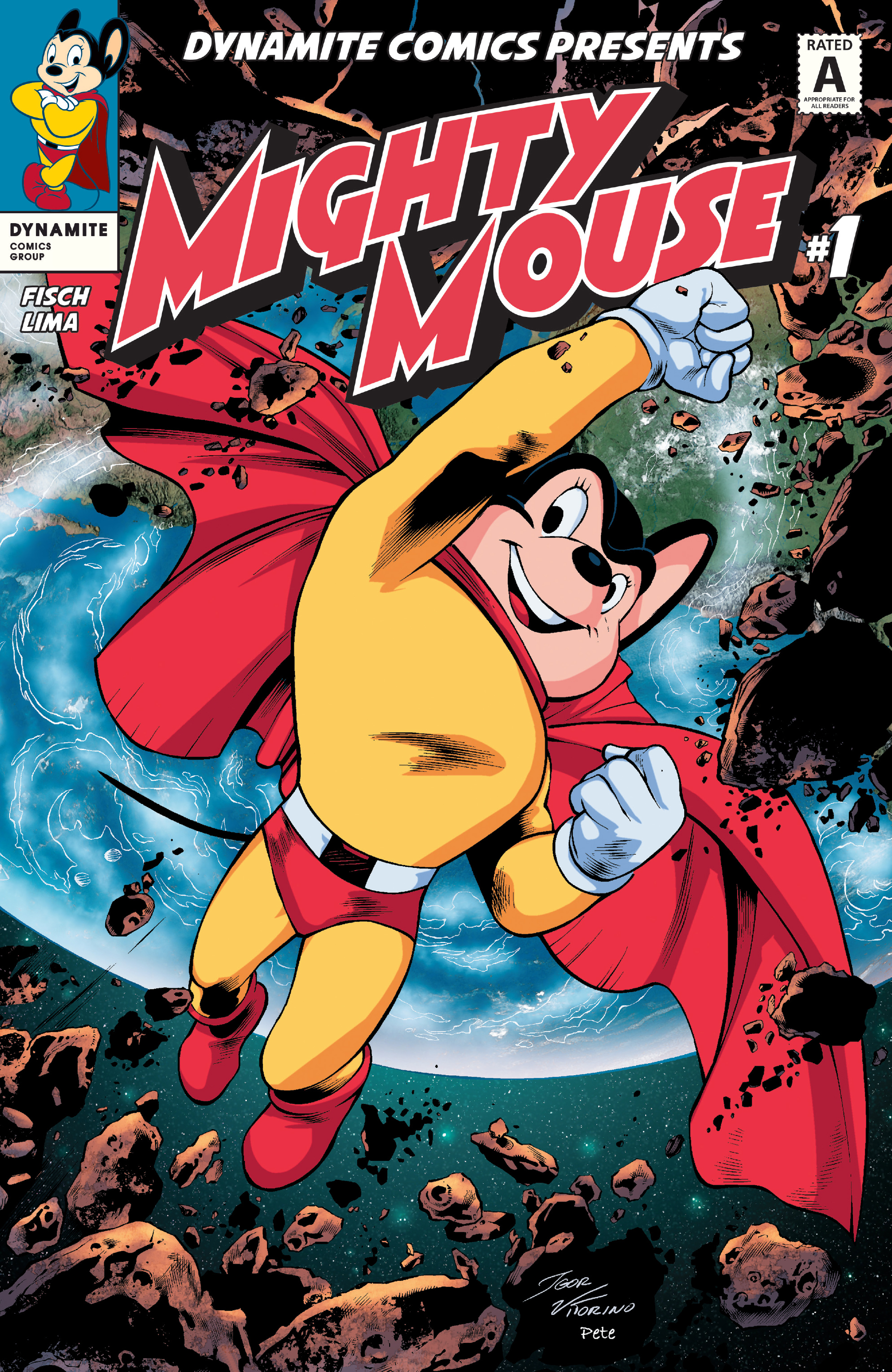 Read online Mighty Mouse (2017) comic -  Issue #1 - 3