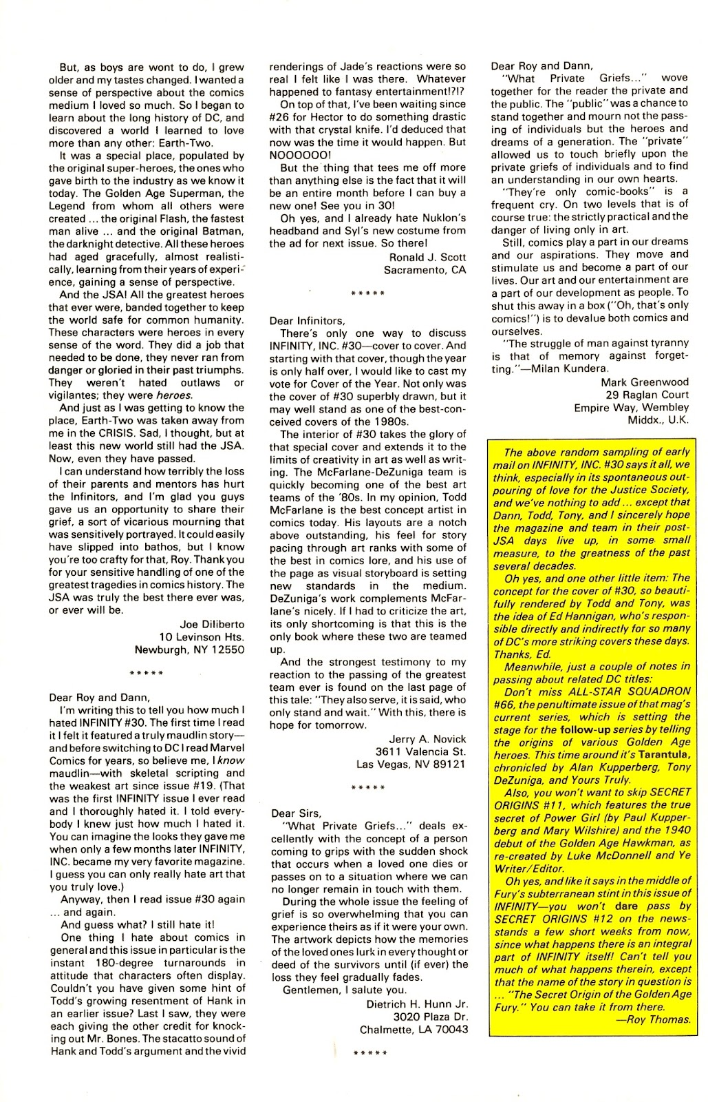 Infinity Inc. (1984) issue 35 - Page 32