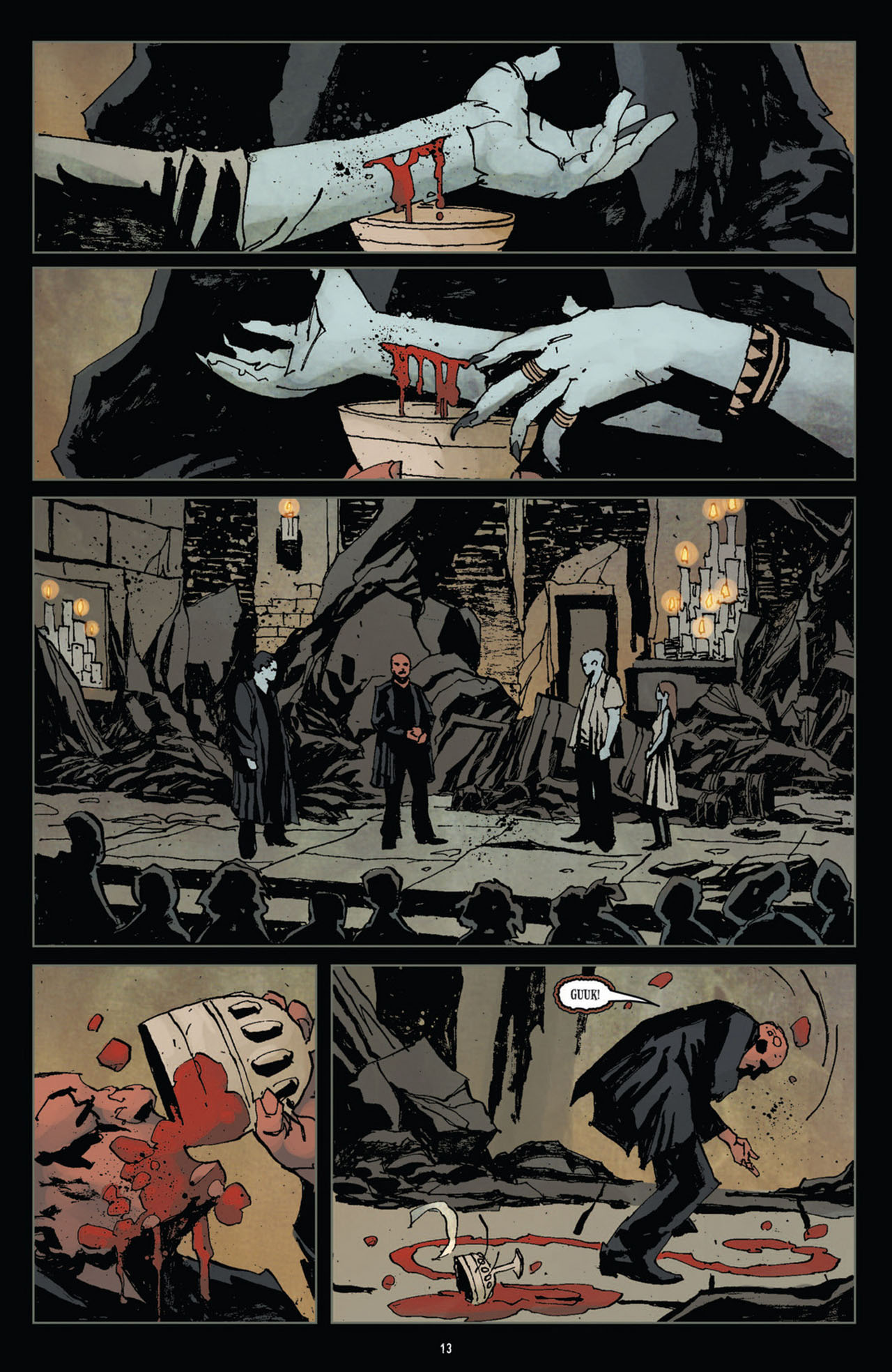 Read online 30 Days of Night (2011) comic -  Issue #10 - 14