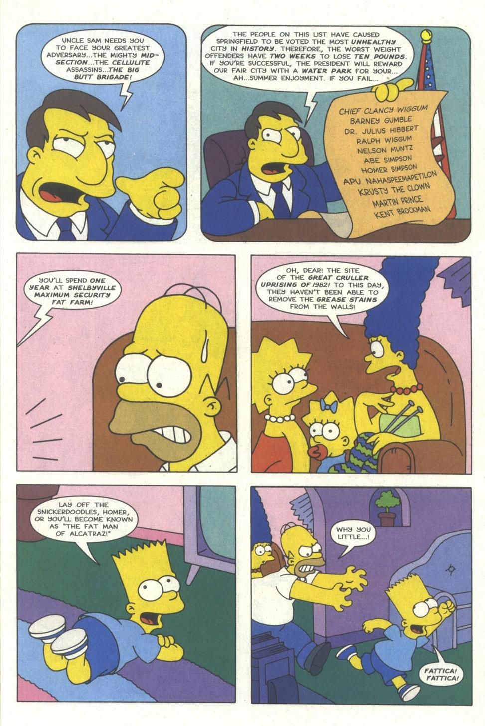 Read online Simpsons Comics comic -  Issue #18 - 8