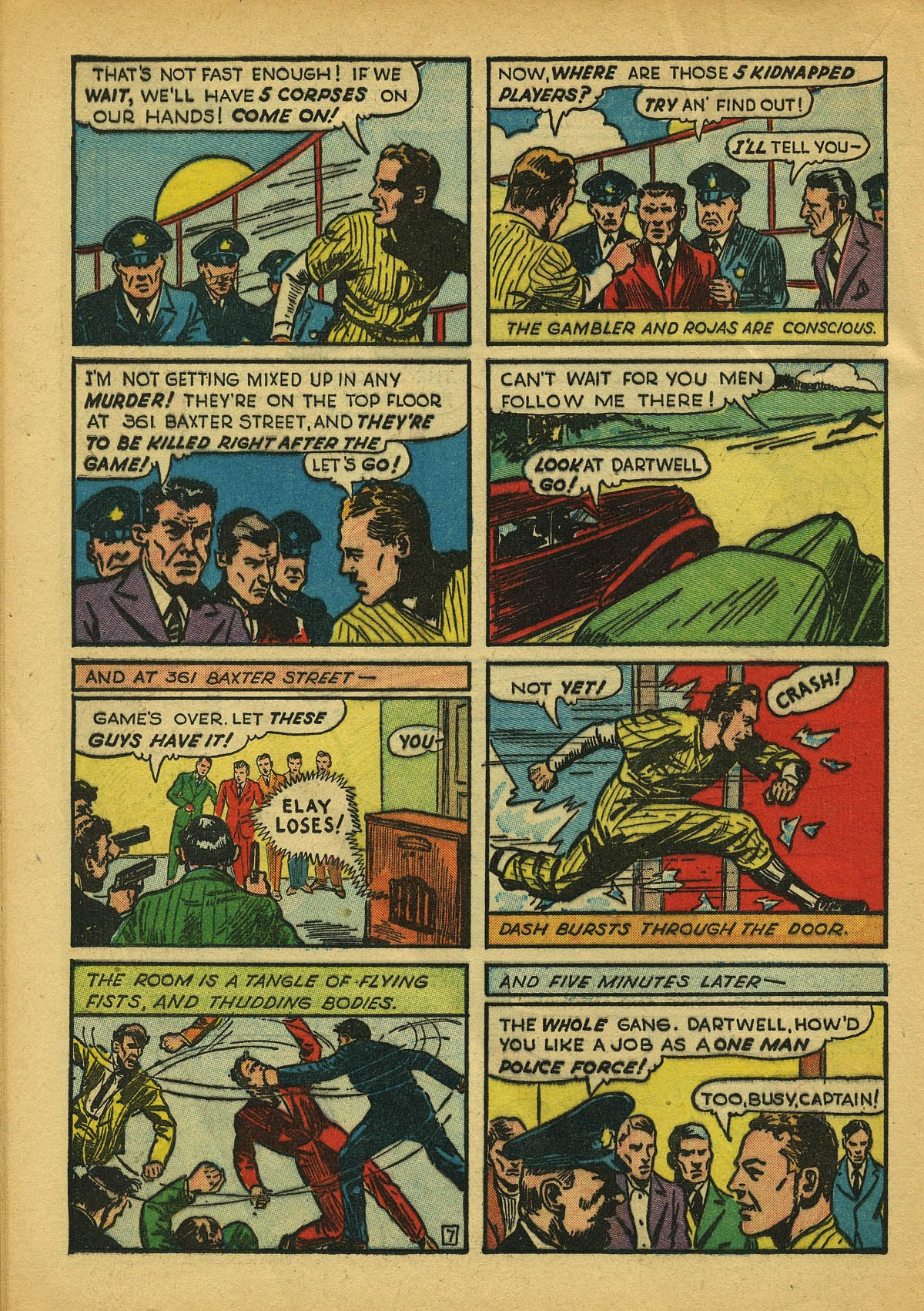Read online Amazing Man Comics comic -  Issue #22 - 47