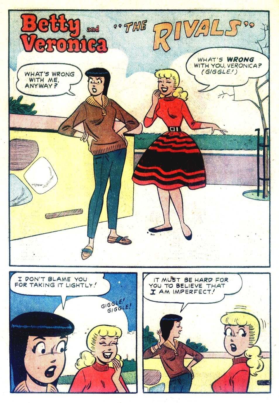 Read online Archie's Girls Betty and Veronica comic -  Issue #55 - 20