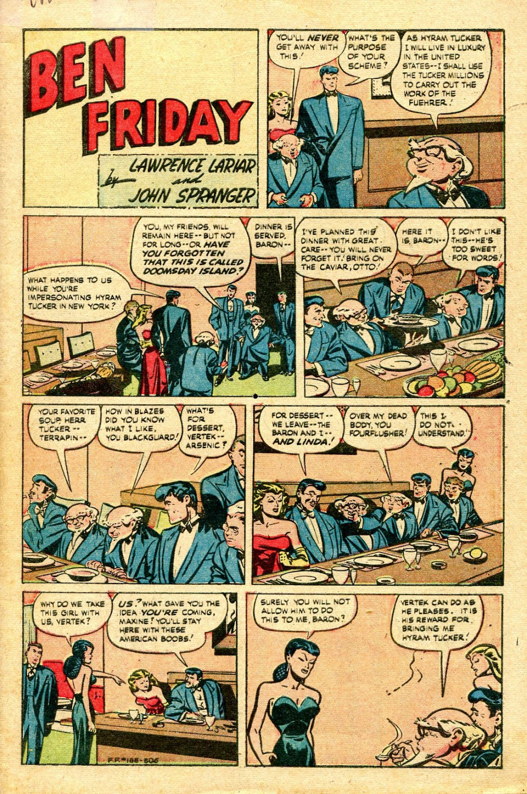 Read online Famous Funnies comic -  Issue #188 - 2
