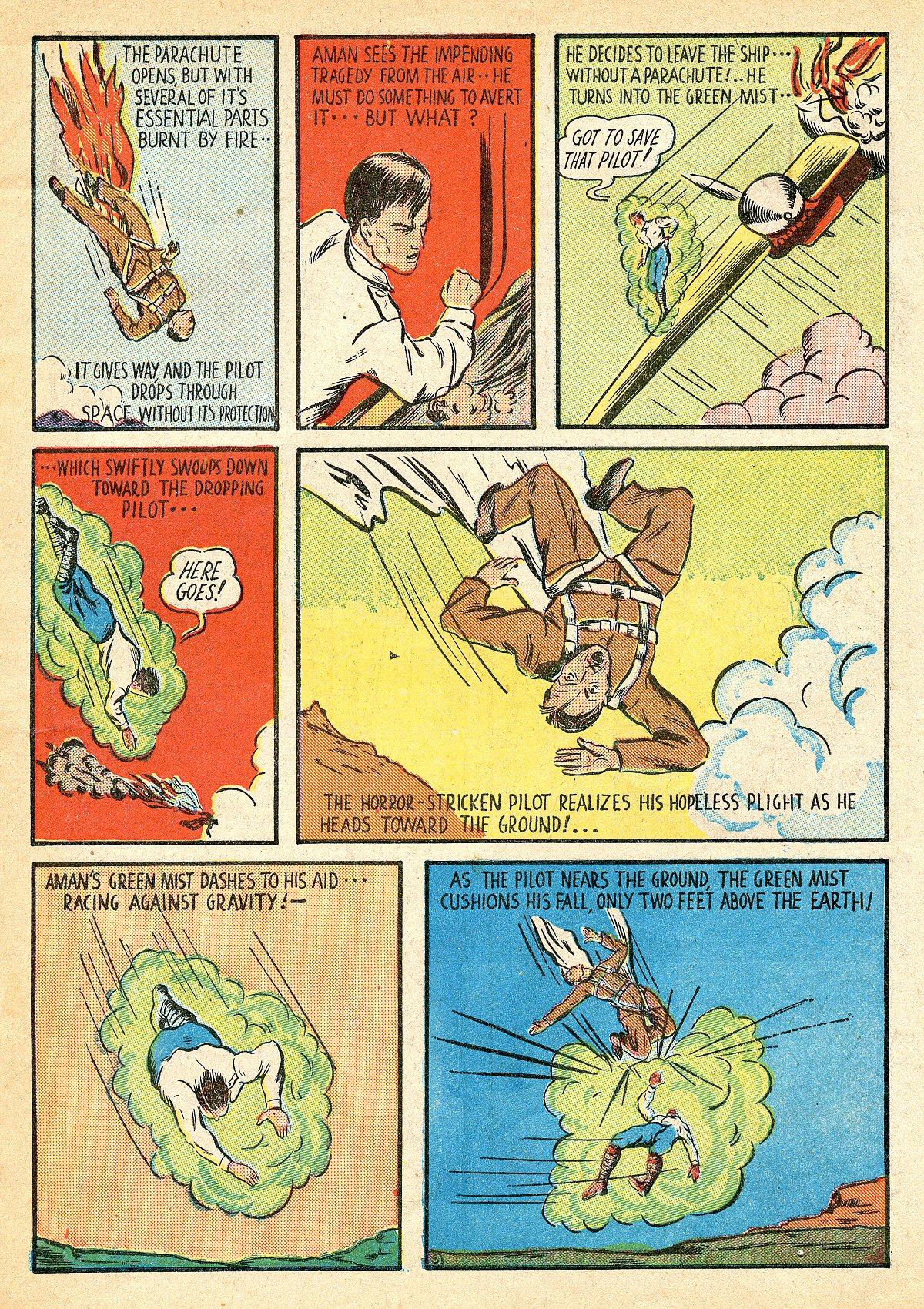 Read online Amazing Man Comics comic -  Issue #10 - 6