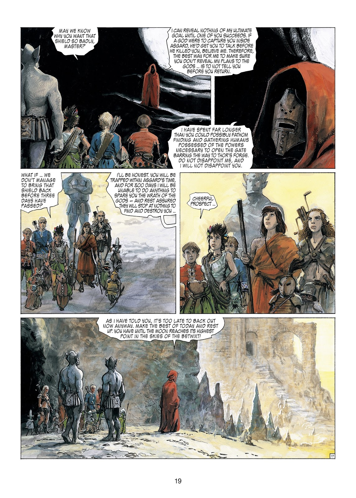 Read online Thorgal comic -  Issue #23 - 21