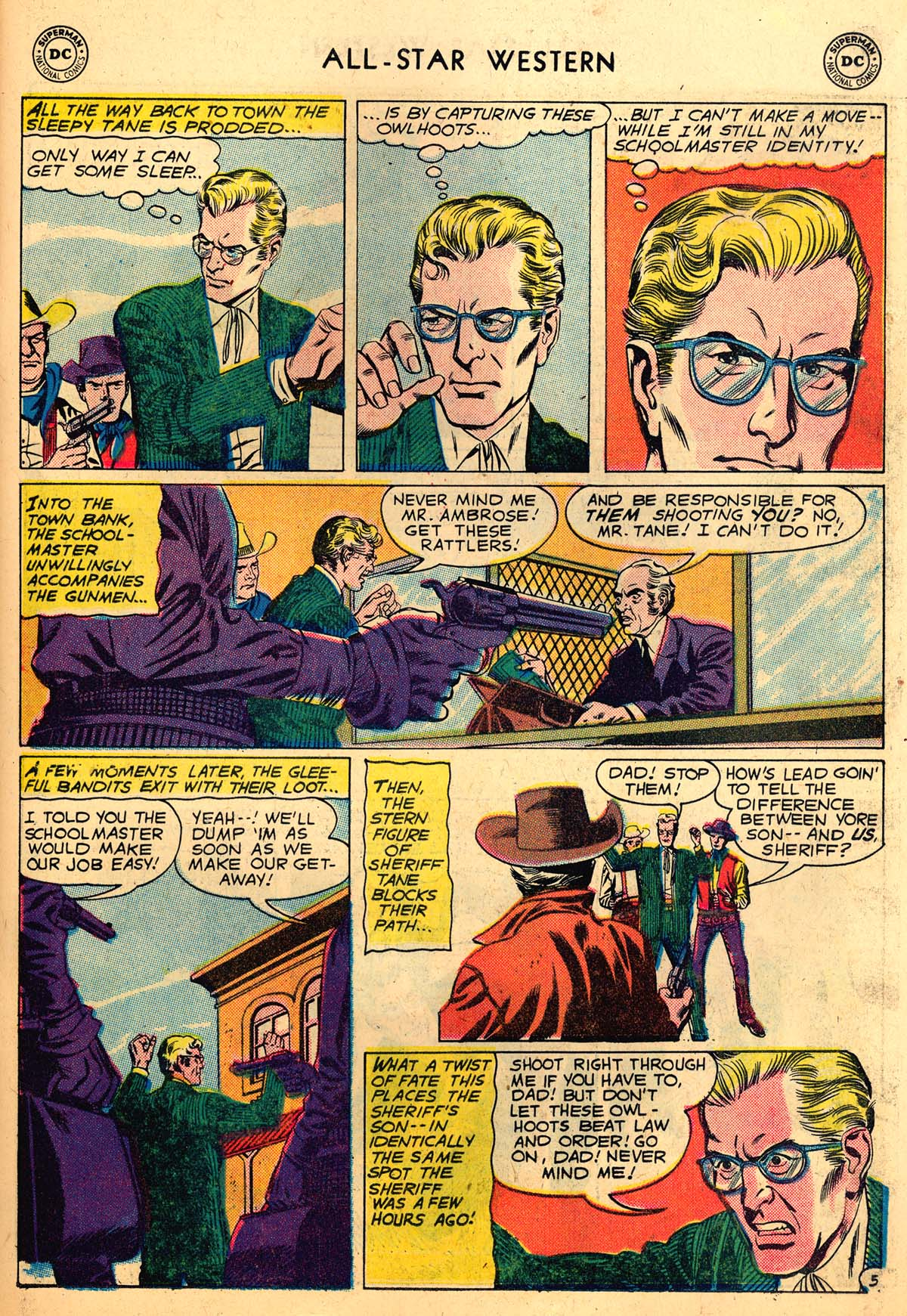 Read online All-Star Western (1951) comic -  Issue #110 - 7
