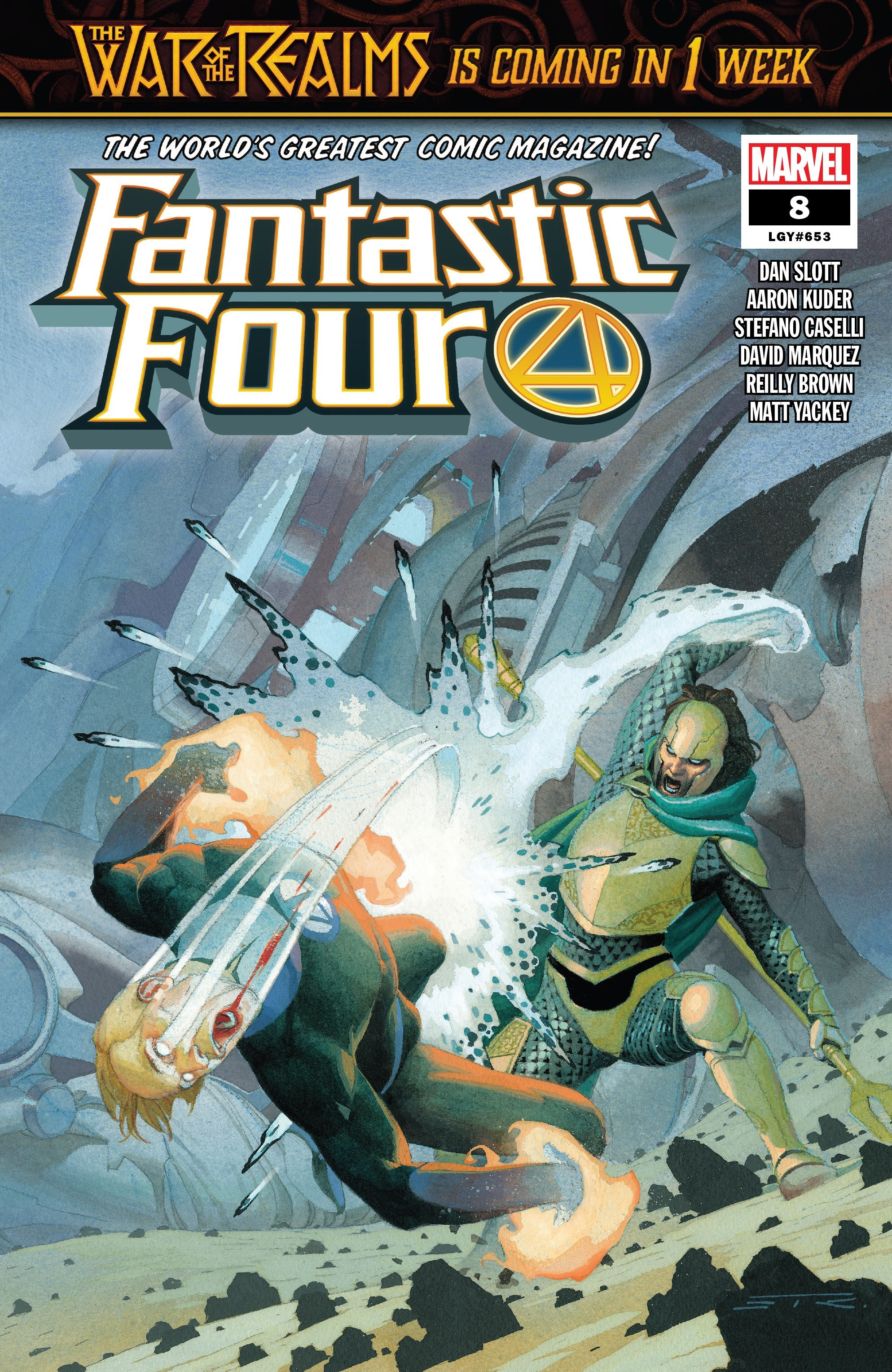 Fantastic Four (2018) 8 Page 1
