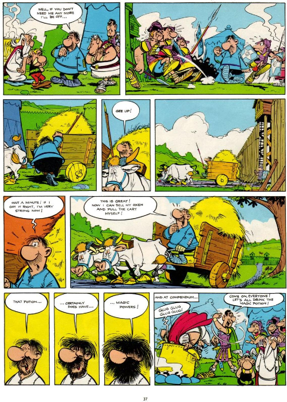 Read online Asterix comic -  Issue #1 - 37