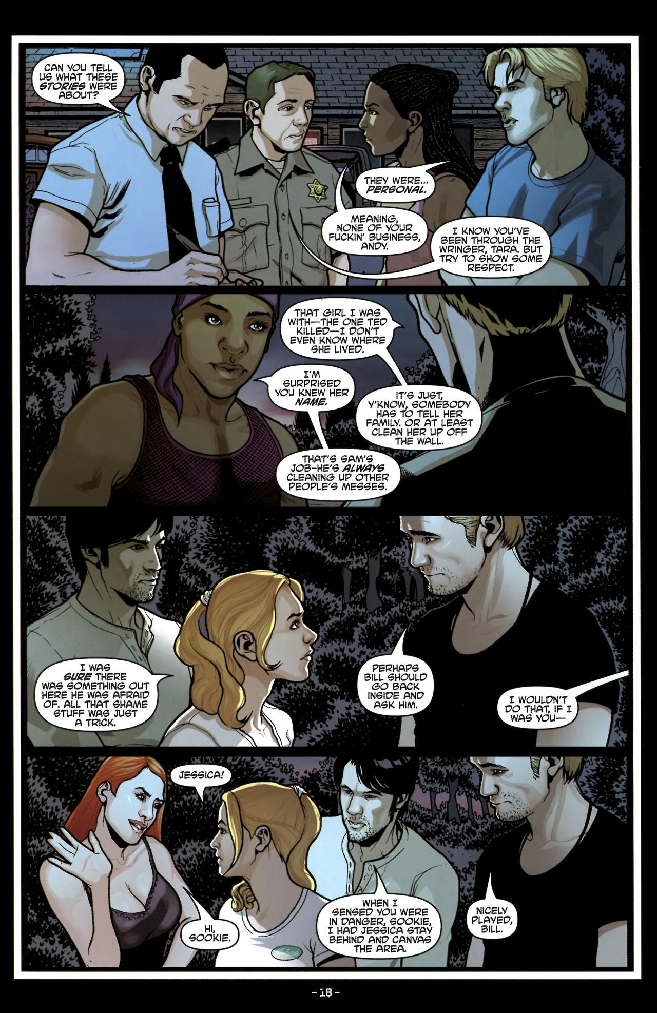 Read online True Blood (2010) comic -  Issue #6 - 20