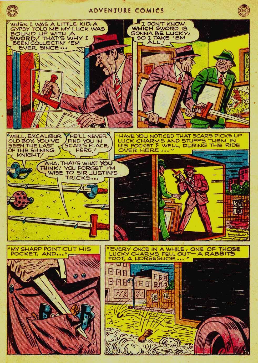 Read online Adventure Comics (1938) comic -  Issue #121 - 34