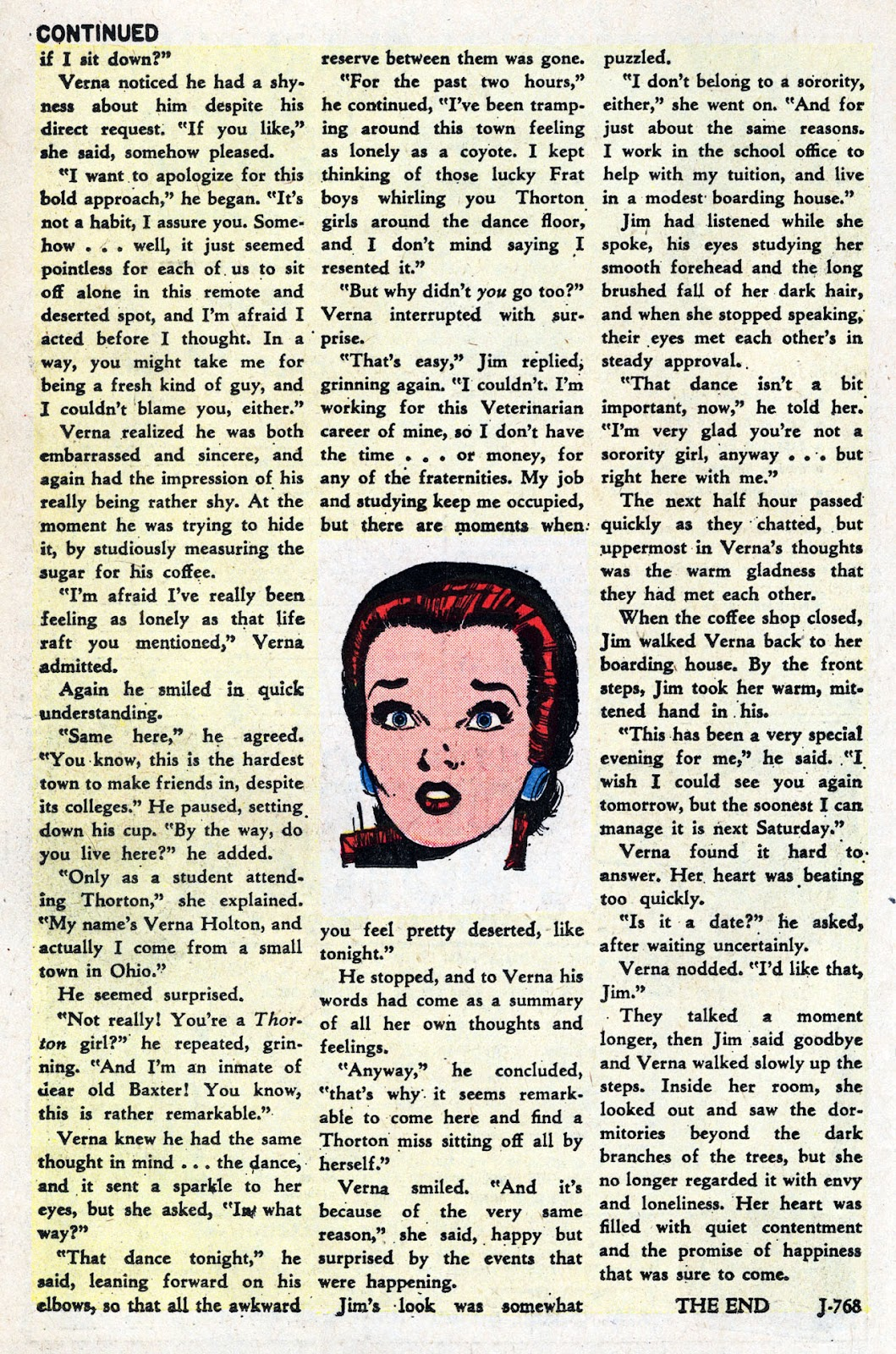Love Romances (1949) issue 95 - Page 26