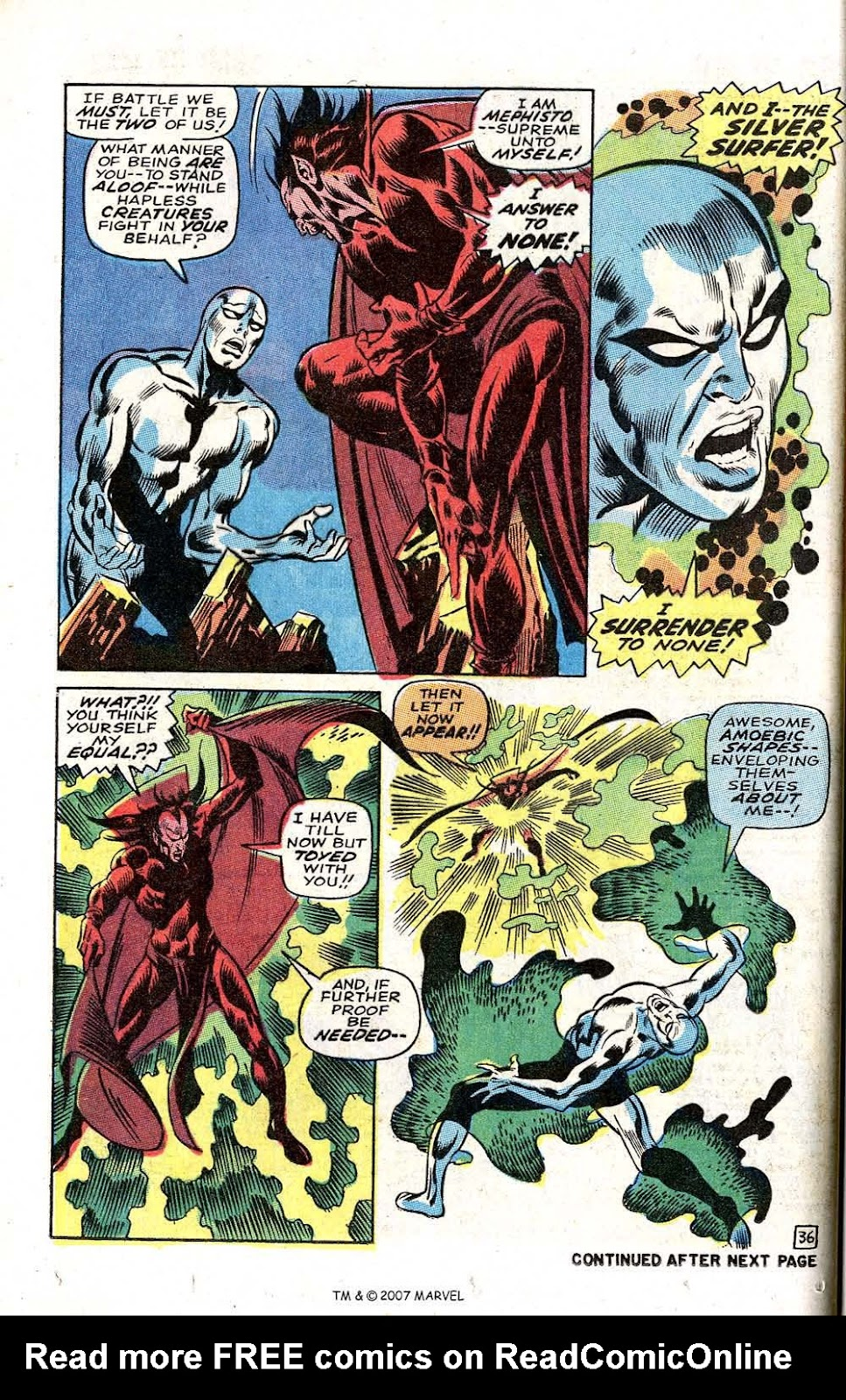 Silver Surfer (1968) issue 3 - Page 44
