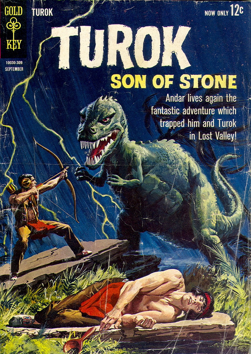 Read online Turok, Son of Stone comic -  Issue #35 - 1