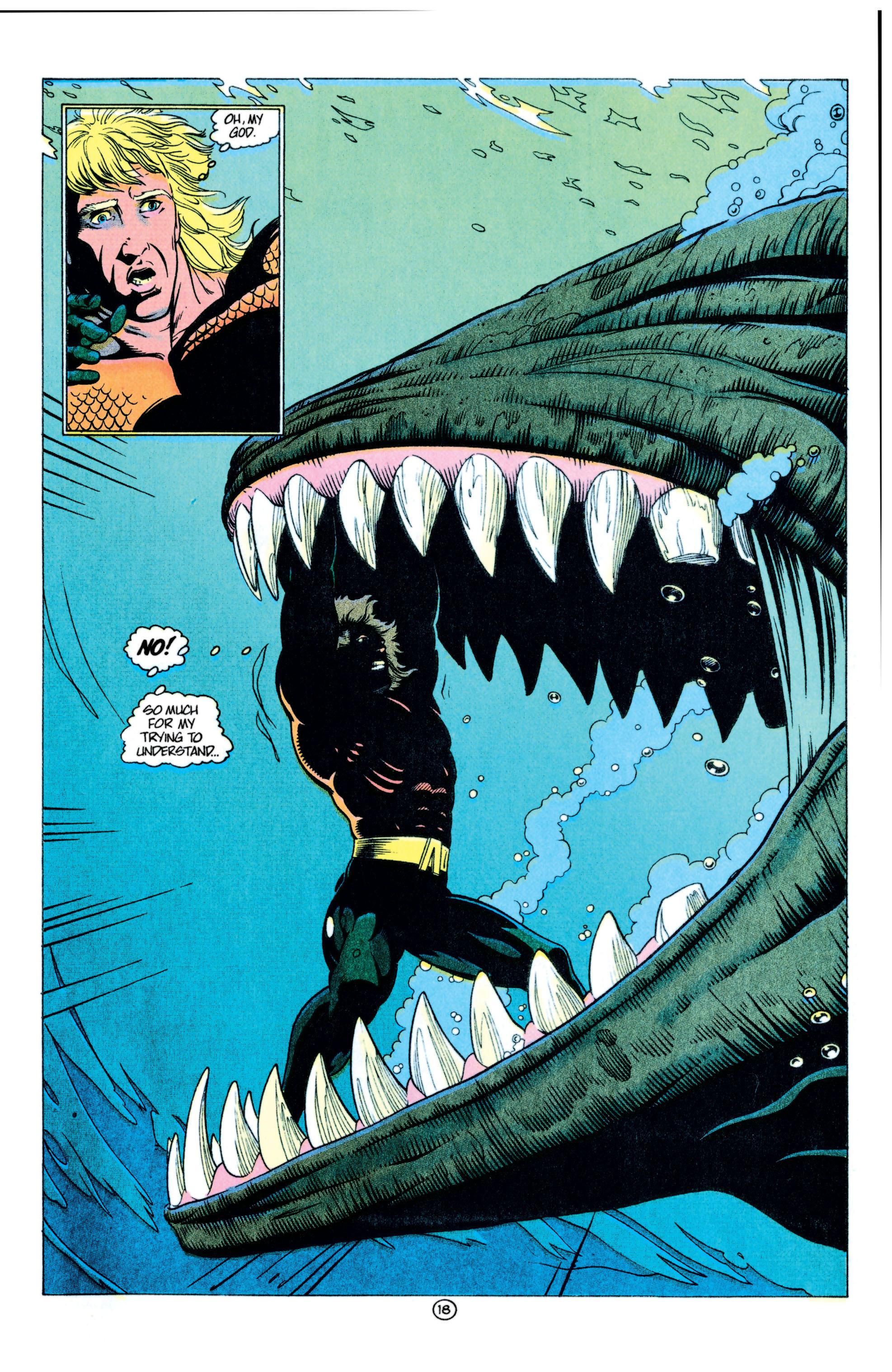 Read online Aquaman (1991) comic -  Issue #11 - 19