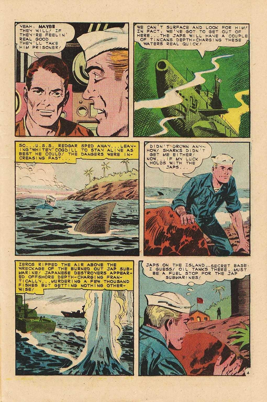 Read online Fightin' Navy comic -  Issue #121 - 21