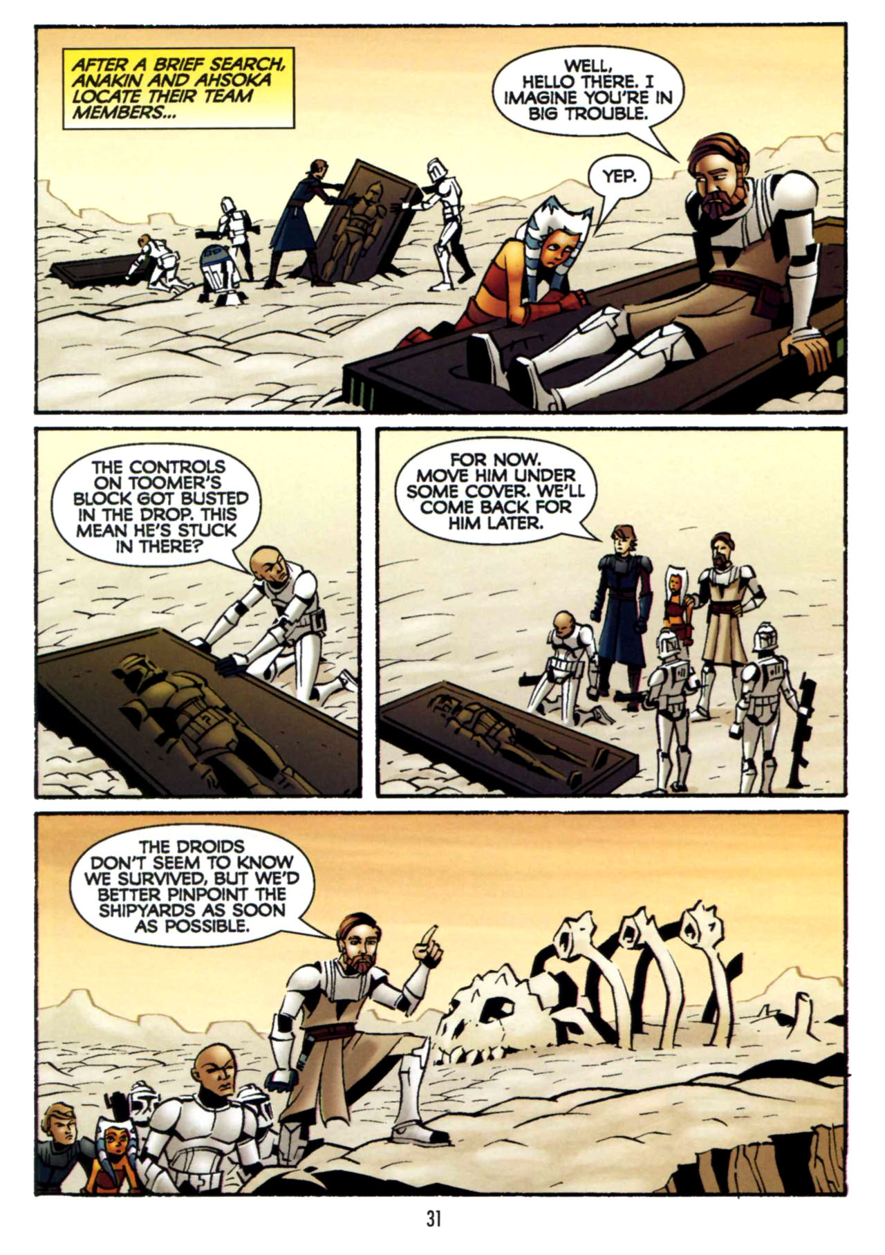 Read online Star Wars: The Clone Wars - Shipyards of Doom comic -  Issue # Full - 30