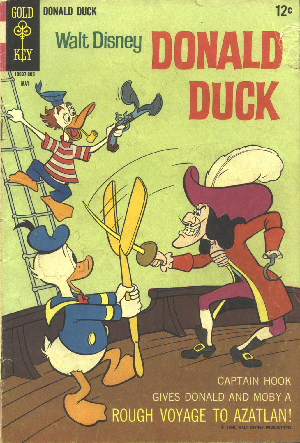 Walt Disney's Donald Duck (1952) issue 119 - Page 1
