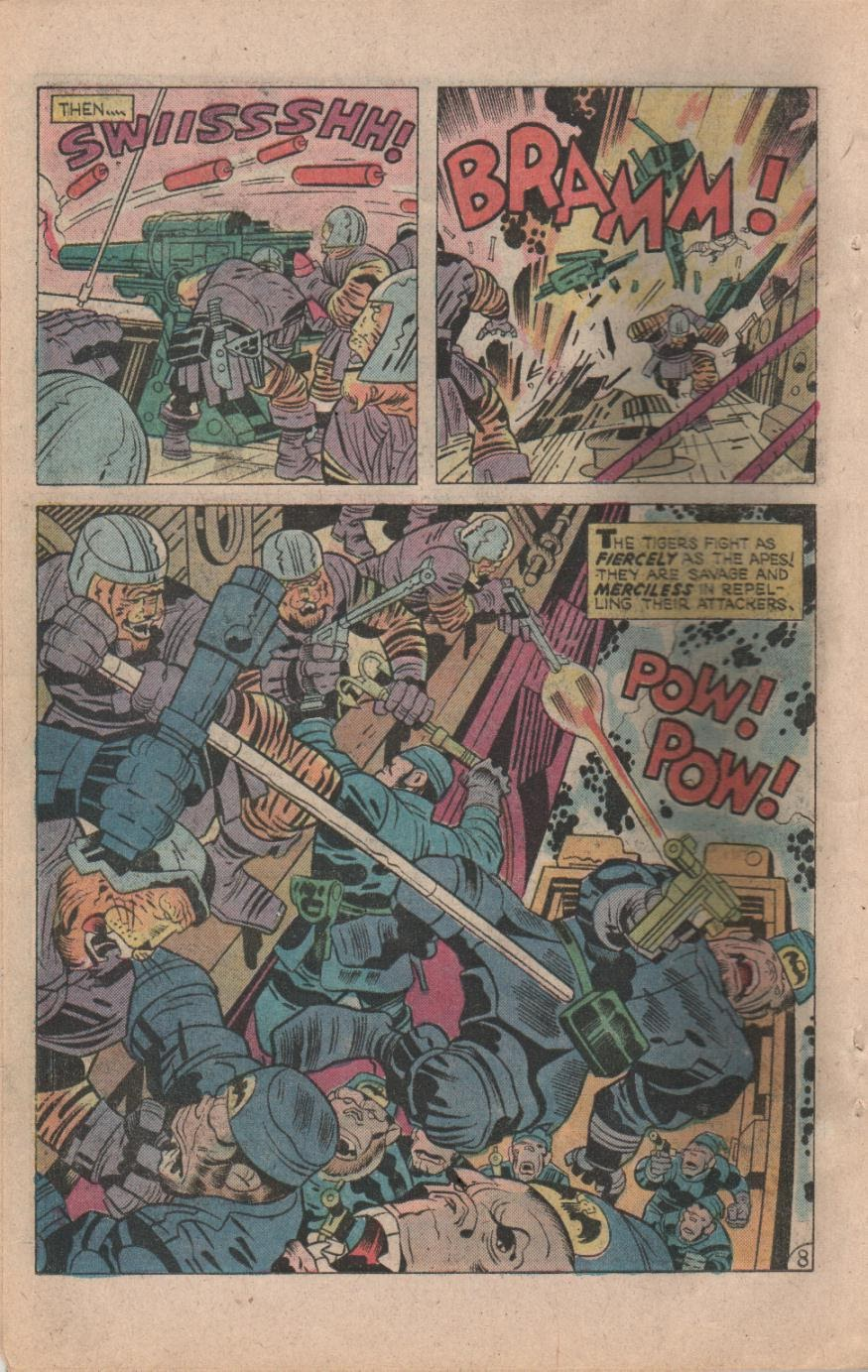 Kamandi, The Last Boy On Earth issue 32 - Page 10