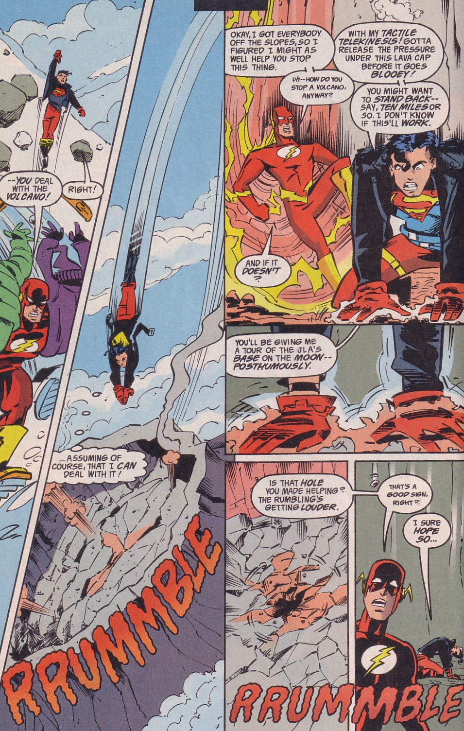 Read online Adventures in the DC Universe comic -  Issue #14 - 14