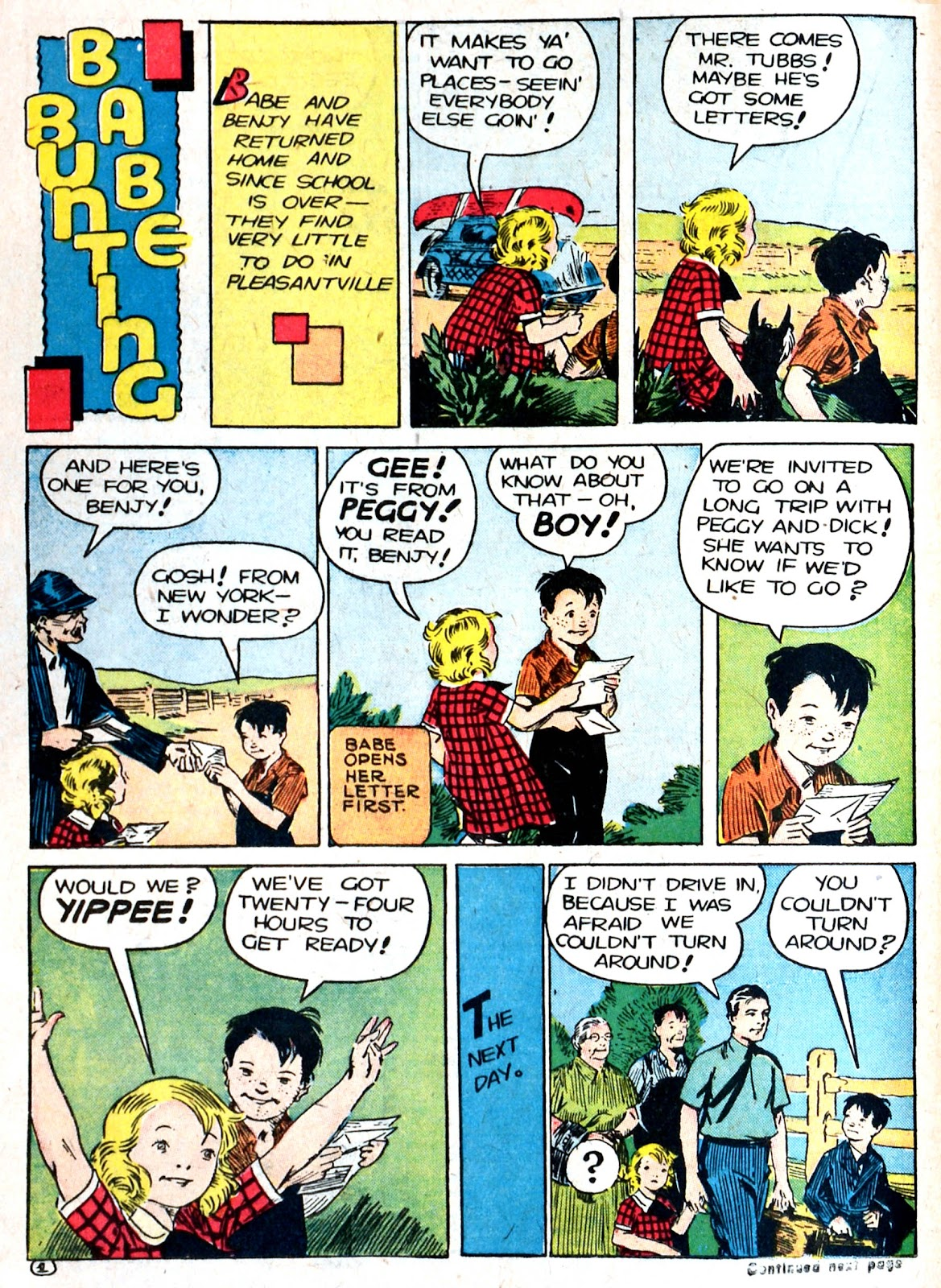 Read online Famous Funnies comic -  Issue #87 - 35