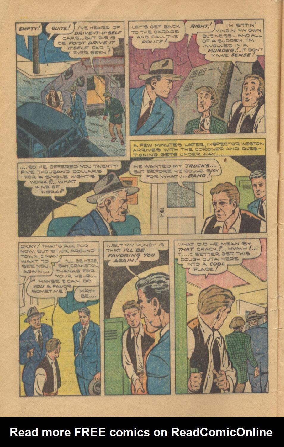 Read online Shadow Comics comic -  Issue #95 - 6