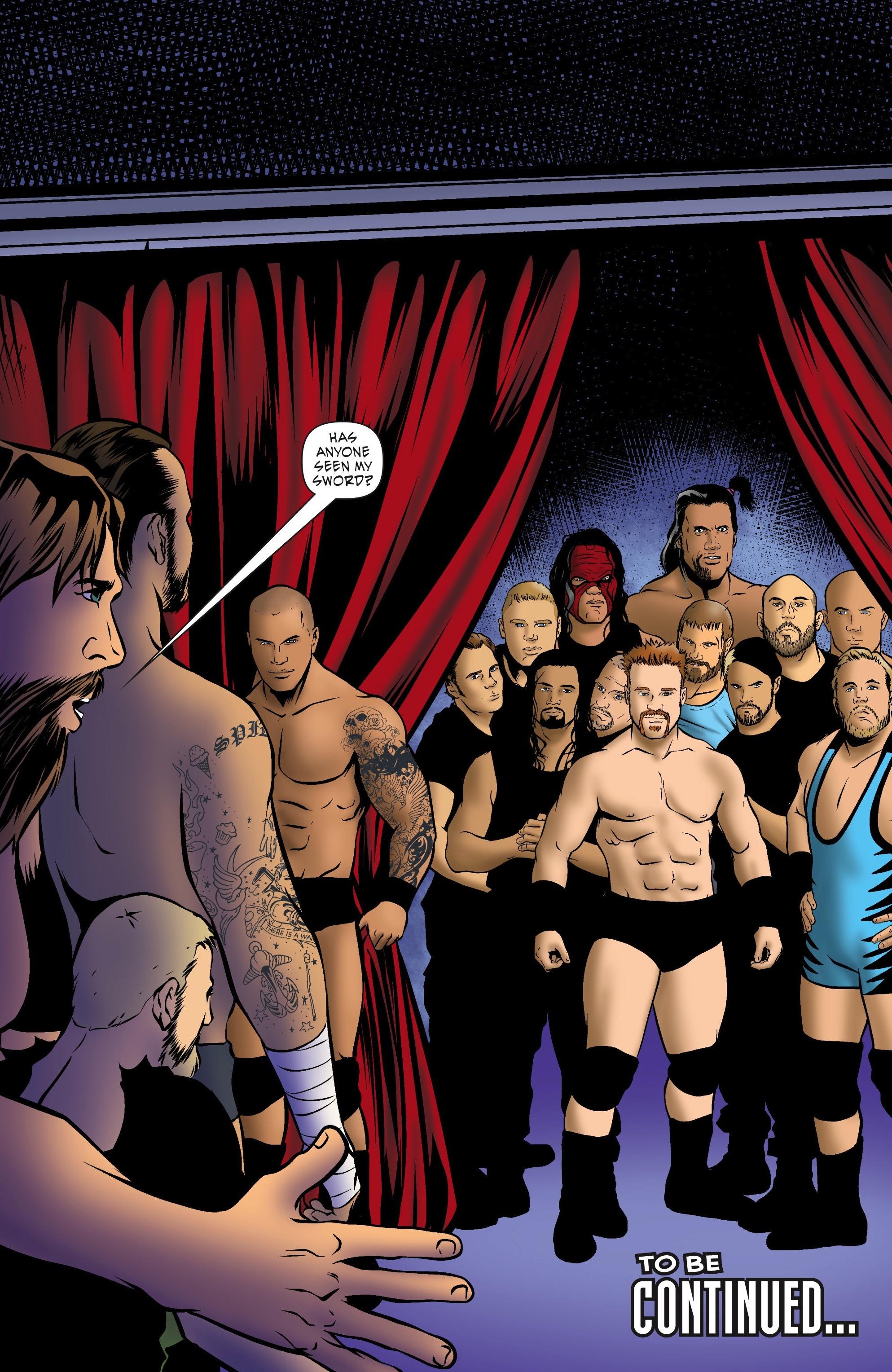 Read online WWE Superstars comic -  Issue #5 - 22