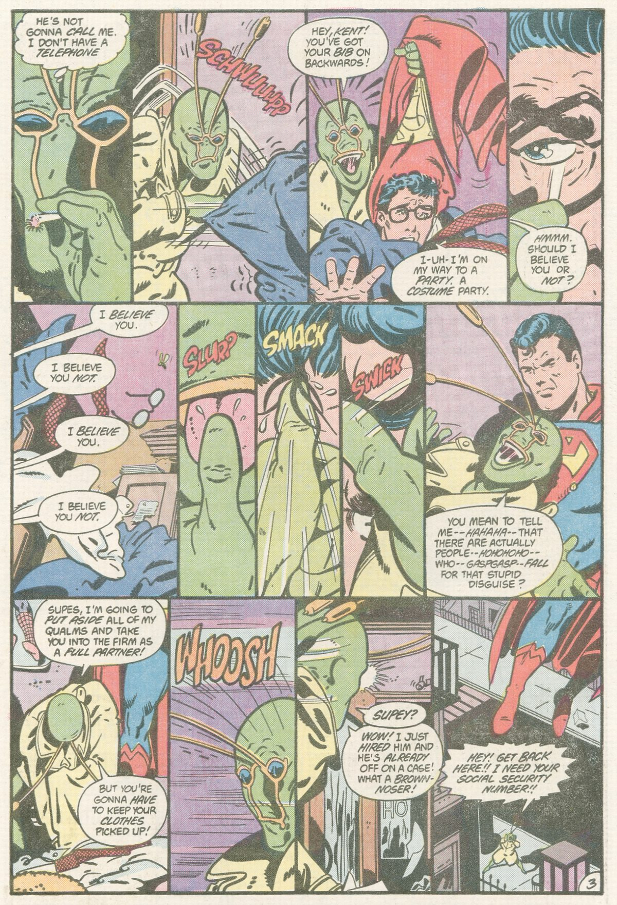Read online Action Comics (1938) comic -  Issue #560 - 22