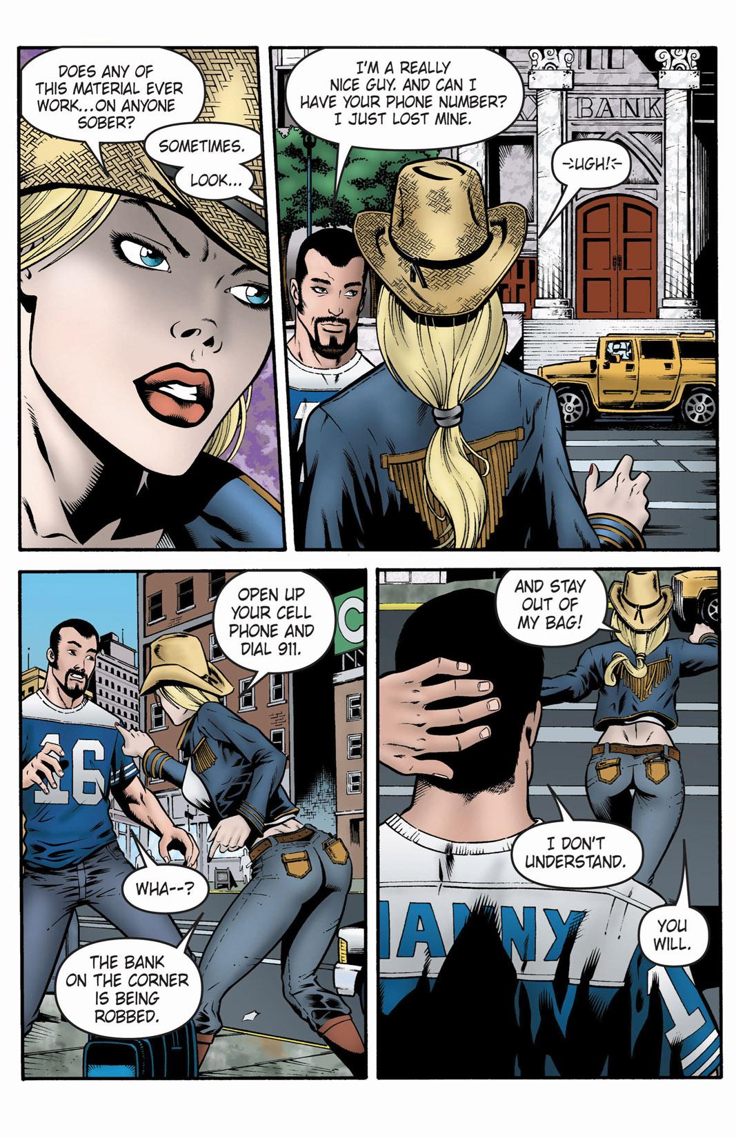 Read online SideChicks comic -  Issue #1 - 22