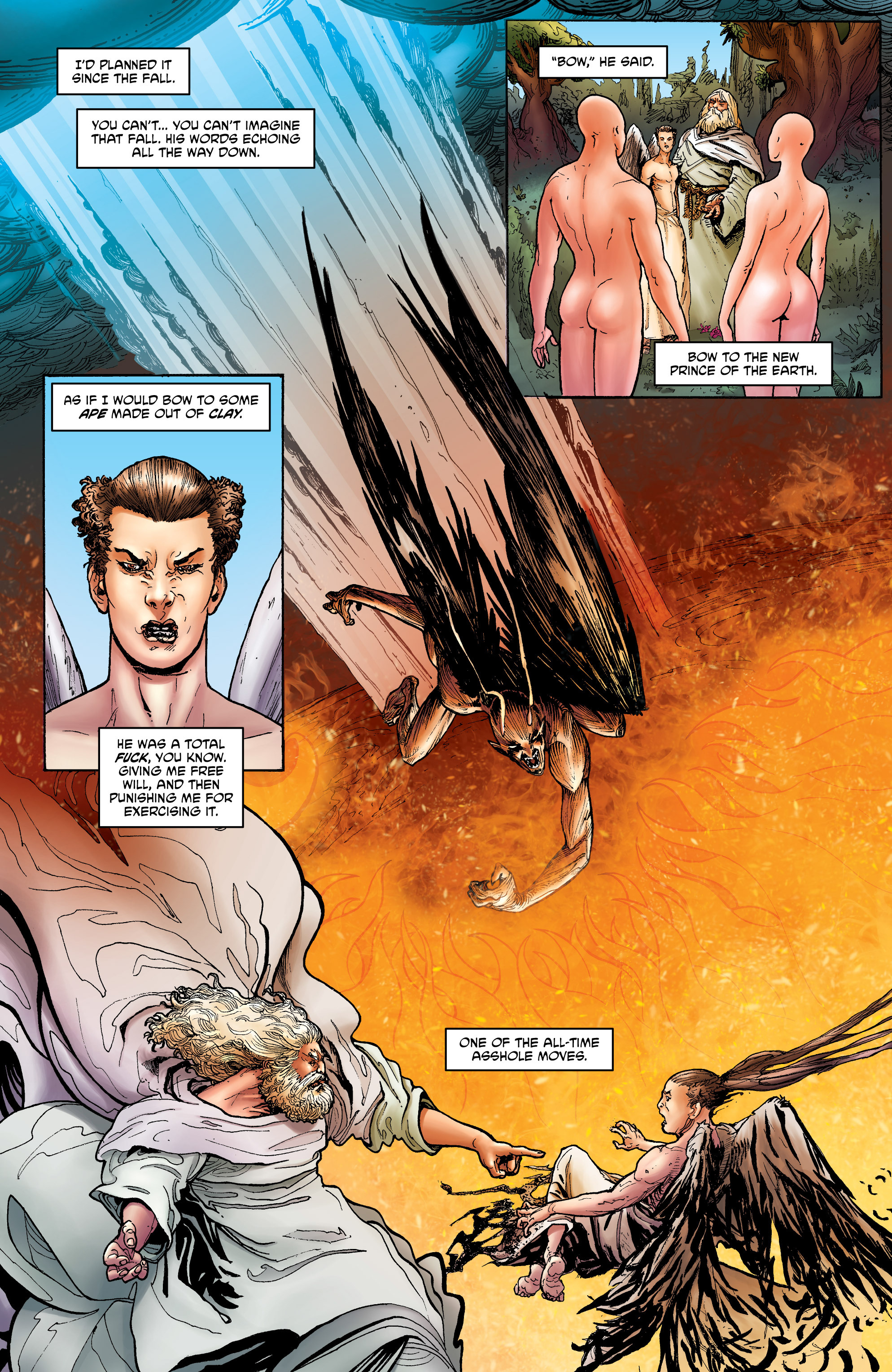 Read online God is Dead: Book of Acts comic -  Issue # Omega - 13