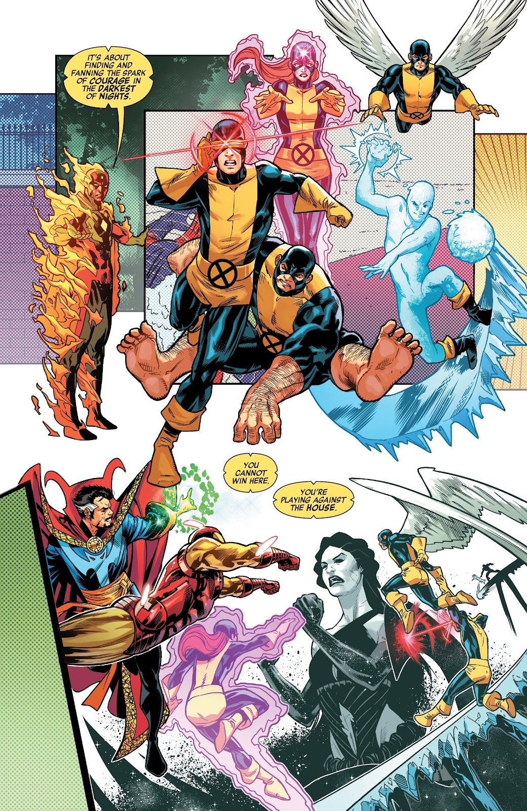 Read online Avengers No Road Home comic -  Issue #10 - 14