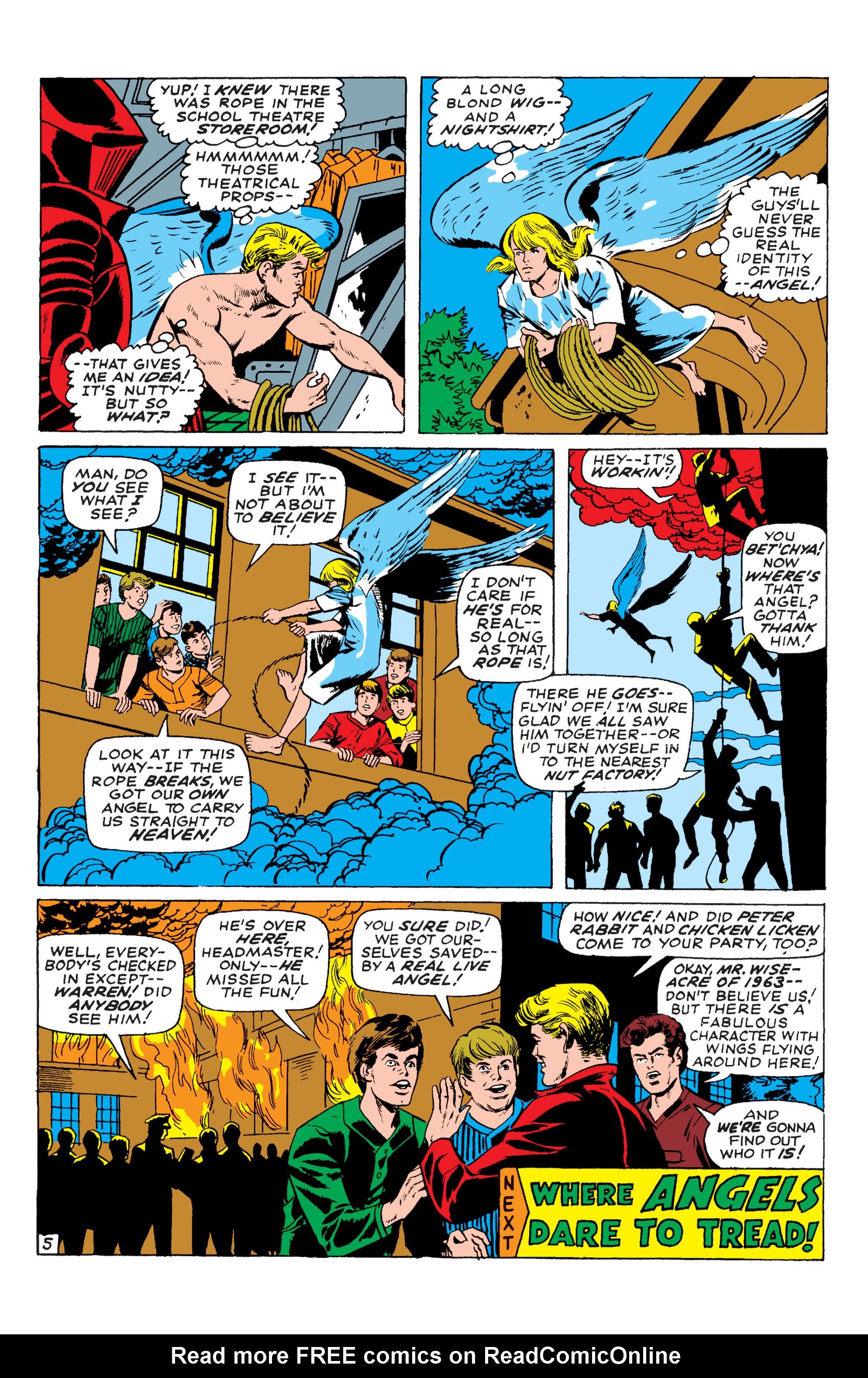 Read online Uncanny X-Men (1963) comic -  Issue #54 - 21