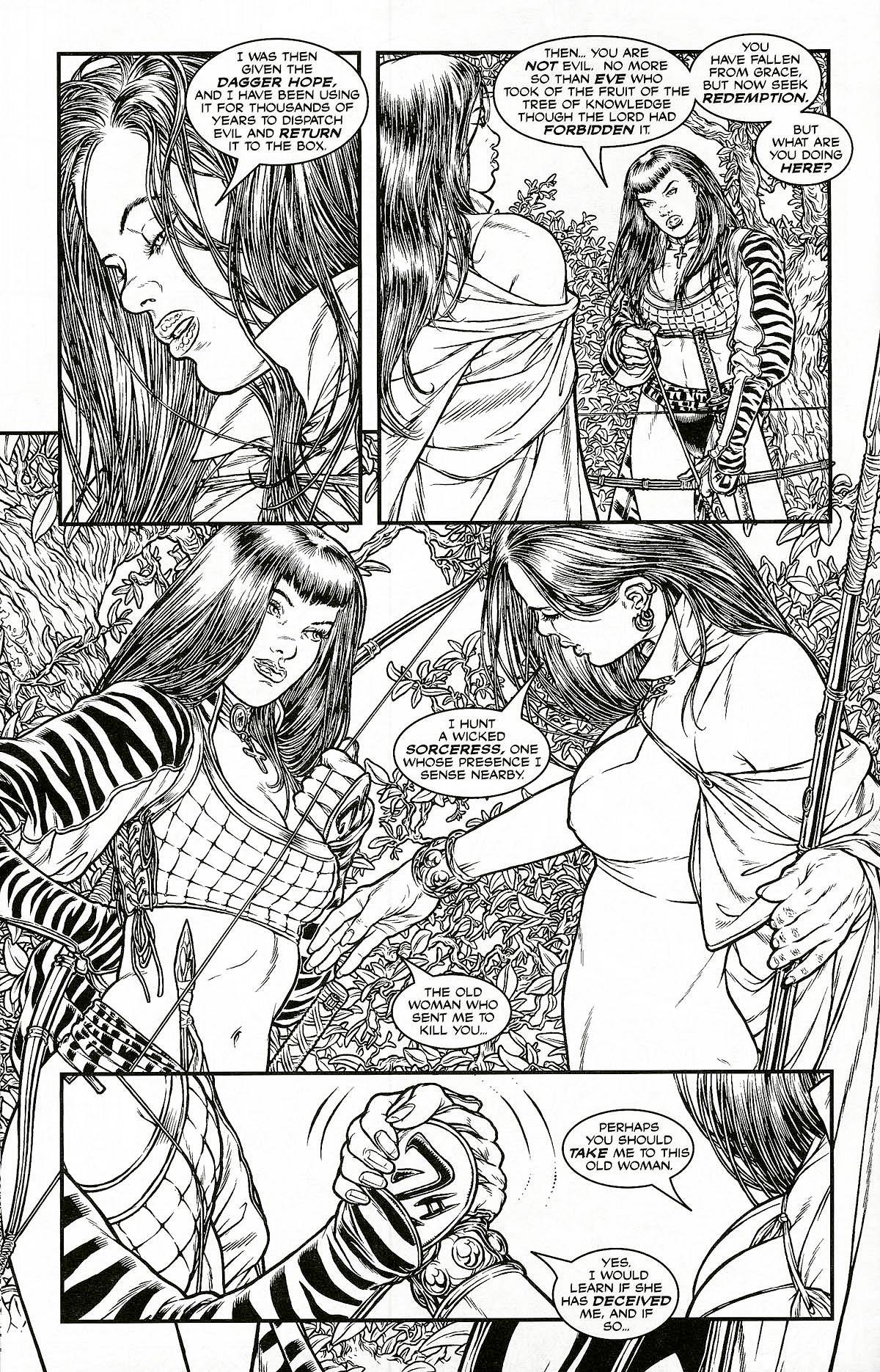 Read online Shi: Pandora's Box comic -  Issue #1 - 10