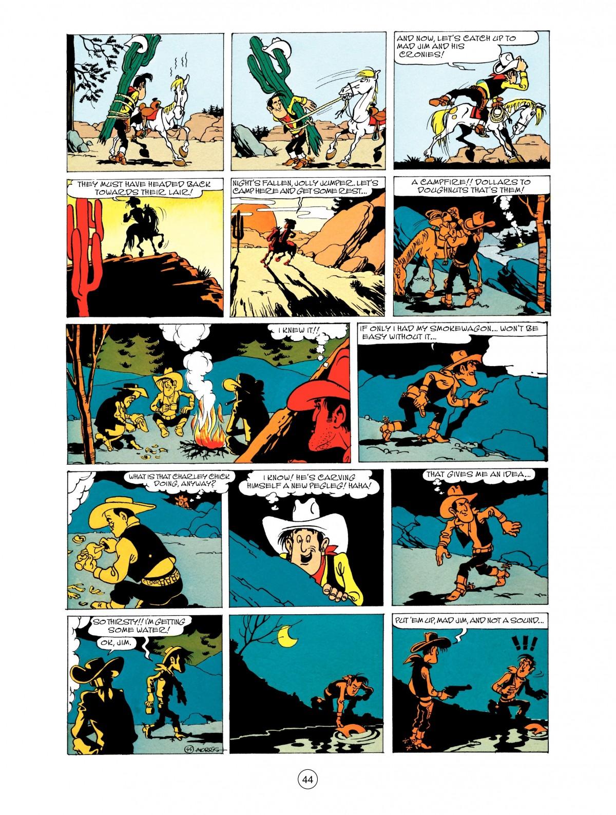 Read online A Lucky Luke Adventure comic -  Issue #48 - 44