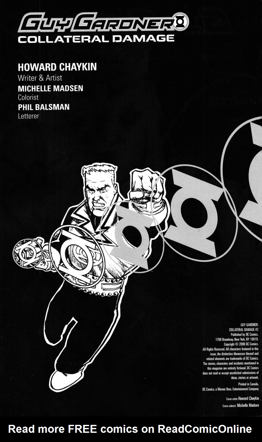 Read online Guy Gardner: Collateral Damage comic -  Issue #2 - 2