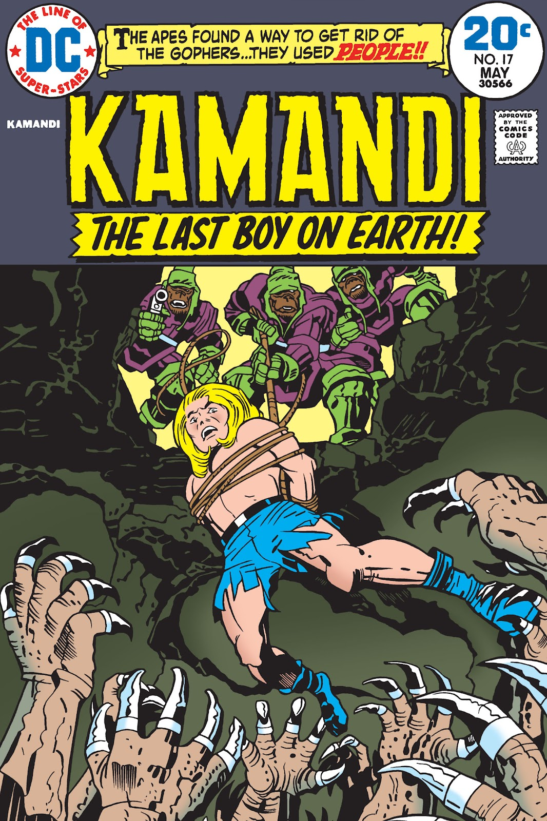 Kamandi, The Last Boy On Earth issue 17 - Page 1
