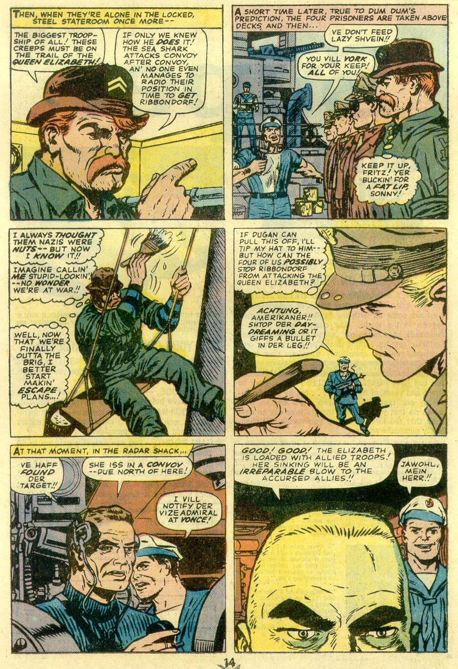 Read online Sgt. Fury comic -  Issue #128 - 16