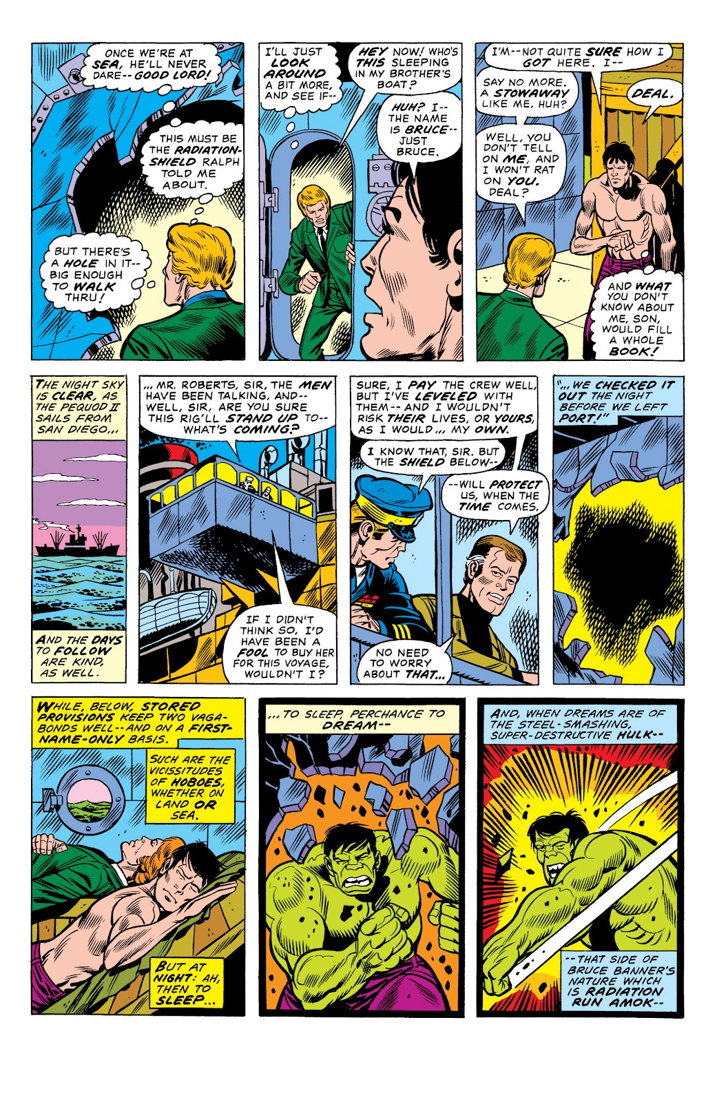 Read online Marvel Masterworks: The Incredible Hulk comic -  Issue # TPB 10 (Part 1) - 54