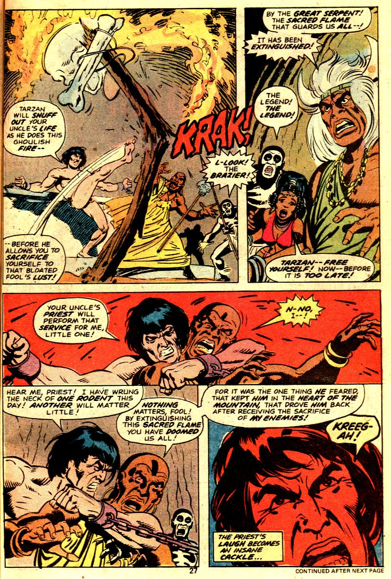 Read online Tarzan (1977) comic -  Issue # _Annual 2 - 23