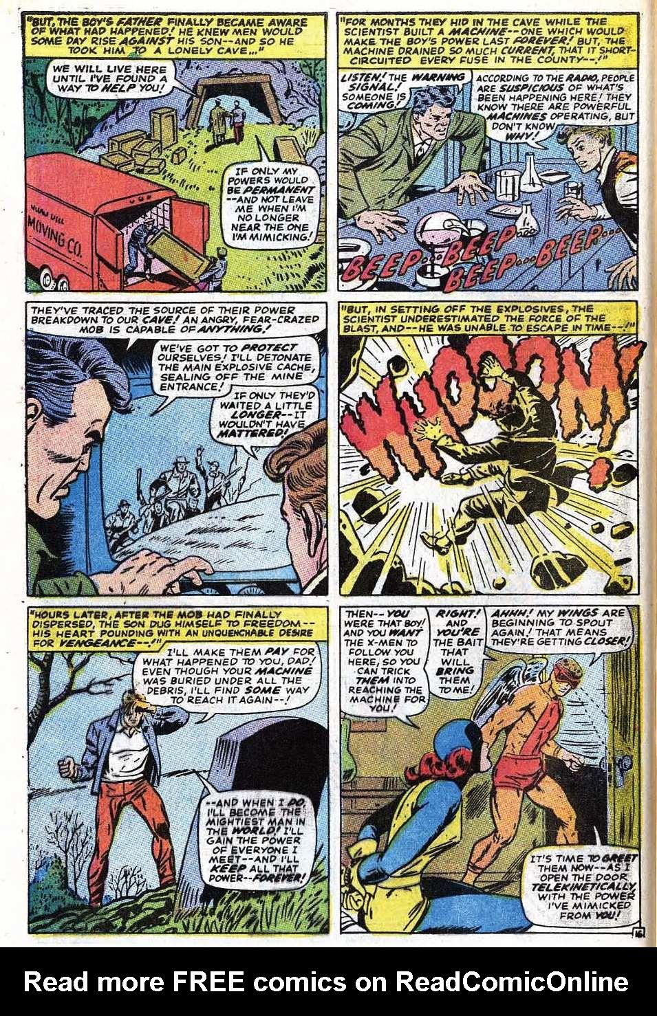 Read online Uncanny X-Men (1963) comic -  Issue #69 - 44