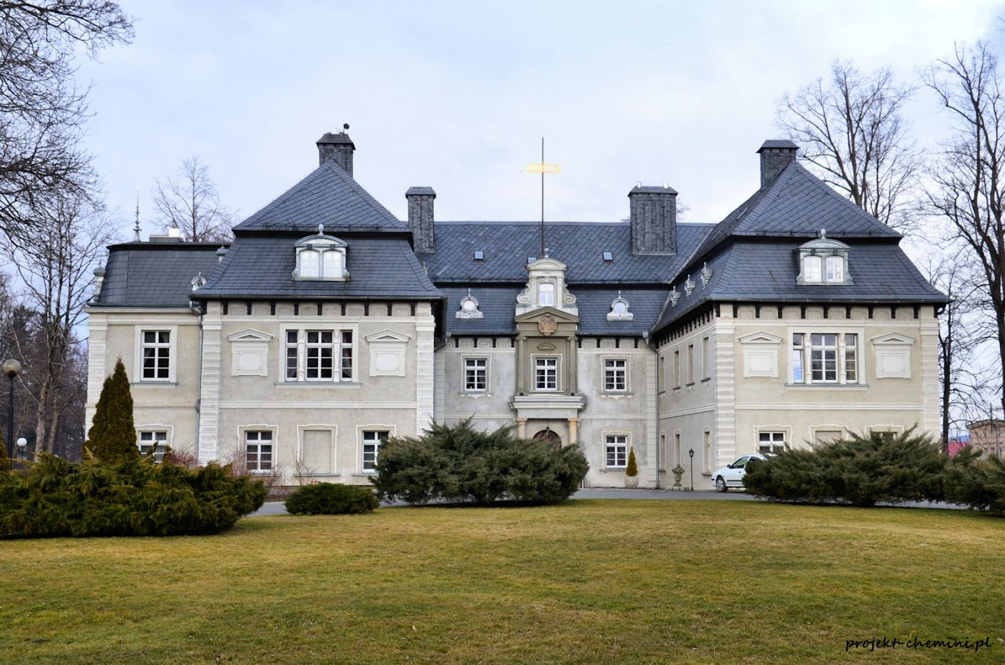 Pałac w Miłkowie