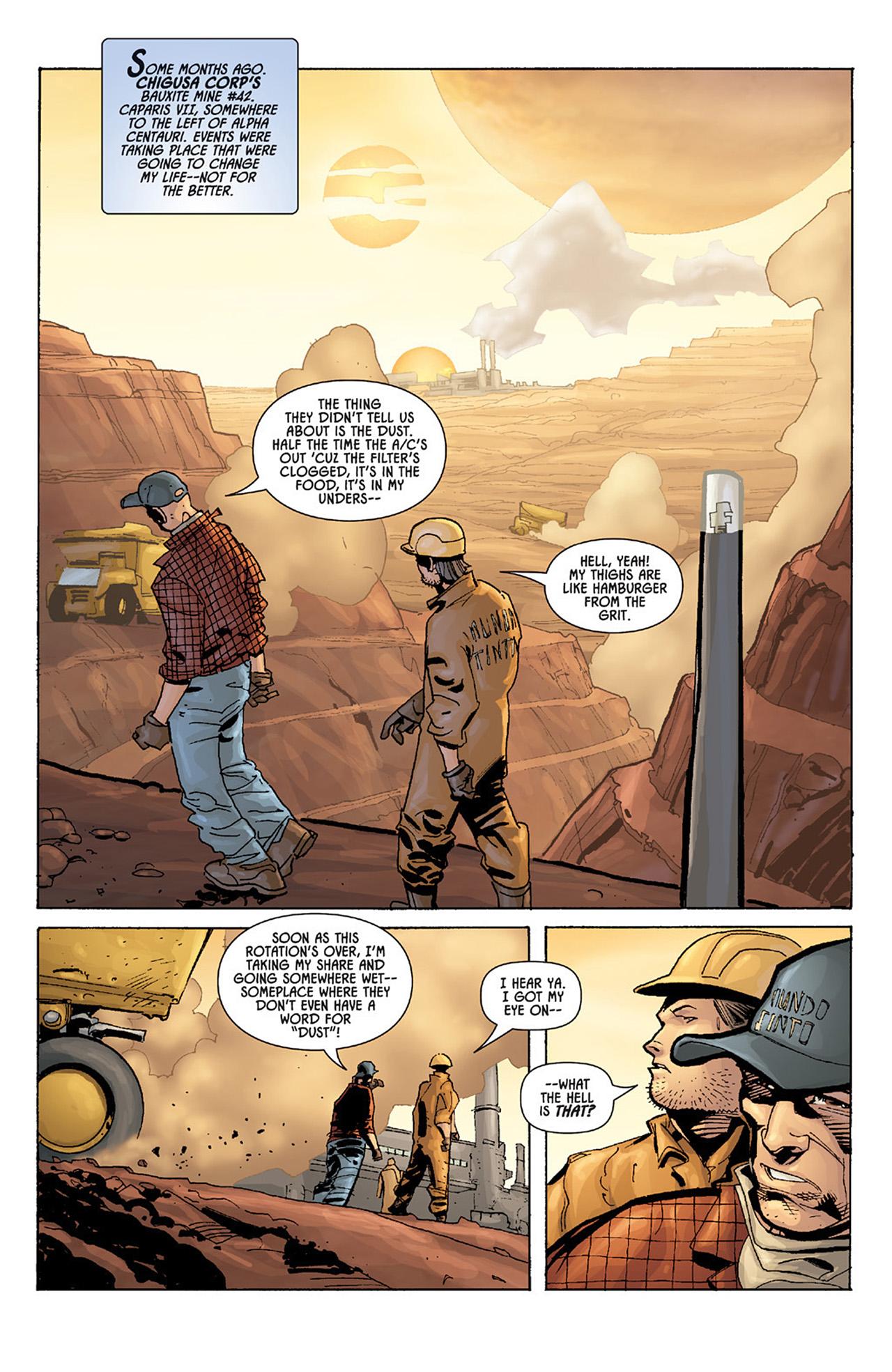 Read online Aliens vs. Predator: Three World War comic -  Issue #1 - 4