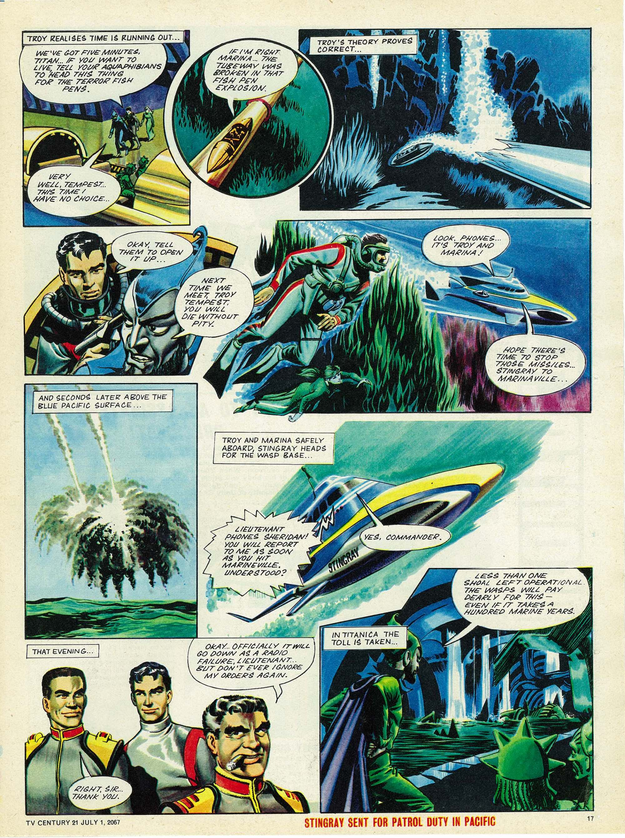 Read online TV Century 21 (TV 21) comic -  Issue #128 - 16