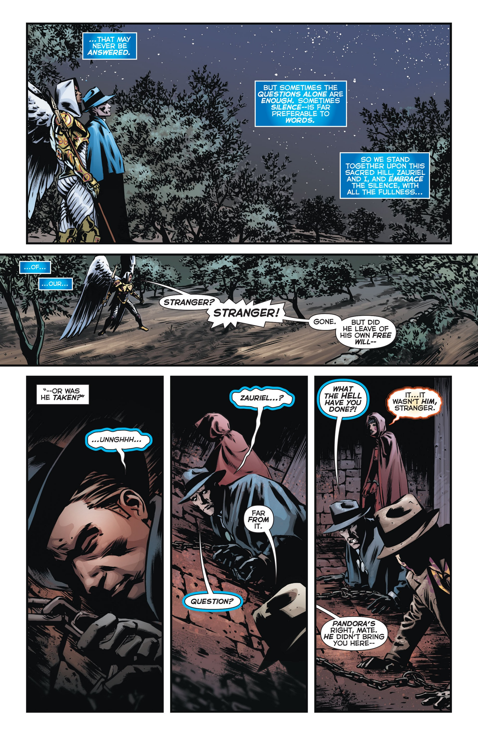 Read online Trinity of Sin: The Phantom Stranger comic -  Issue #13 - 19