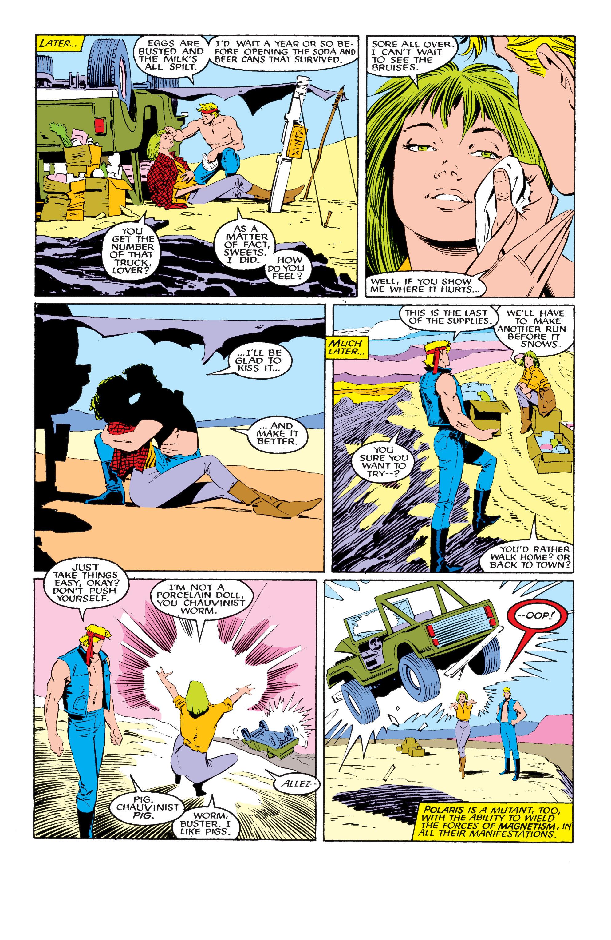 Read online Uncanny X-Men (1963) comic -  Issue #218 - 5