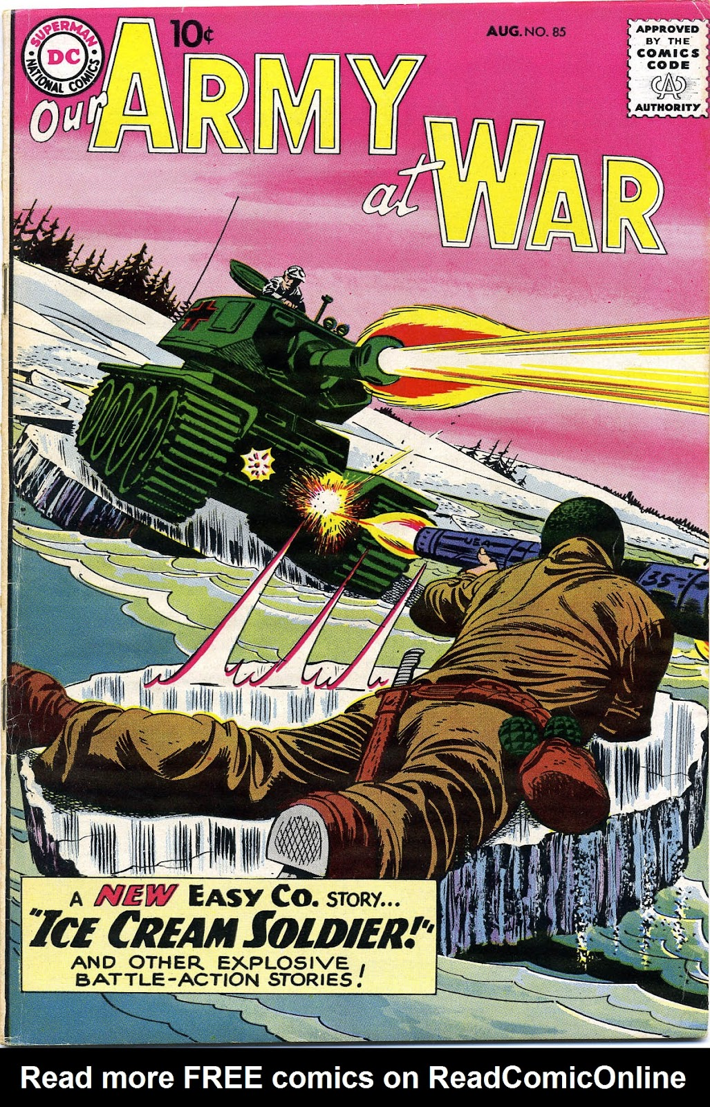 Our Army at War (1952) issue 85 - Page 1