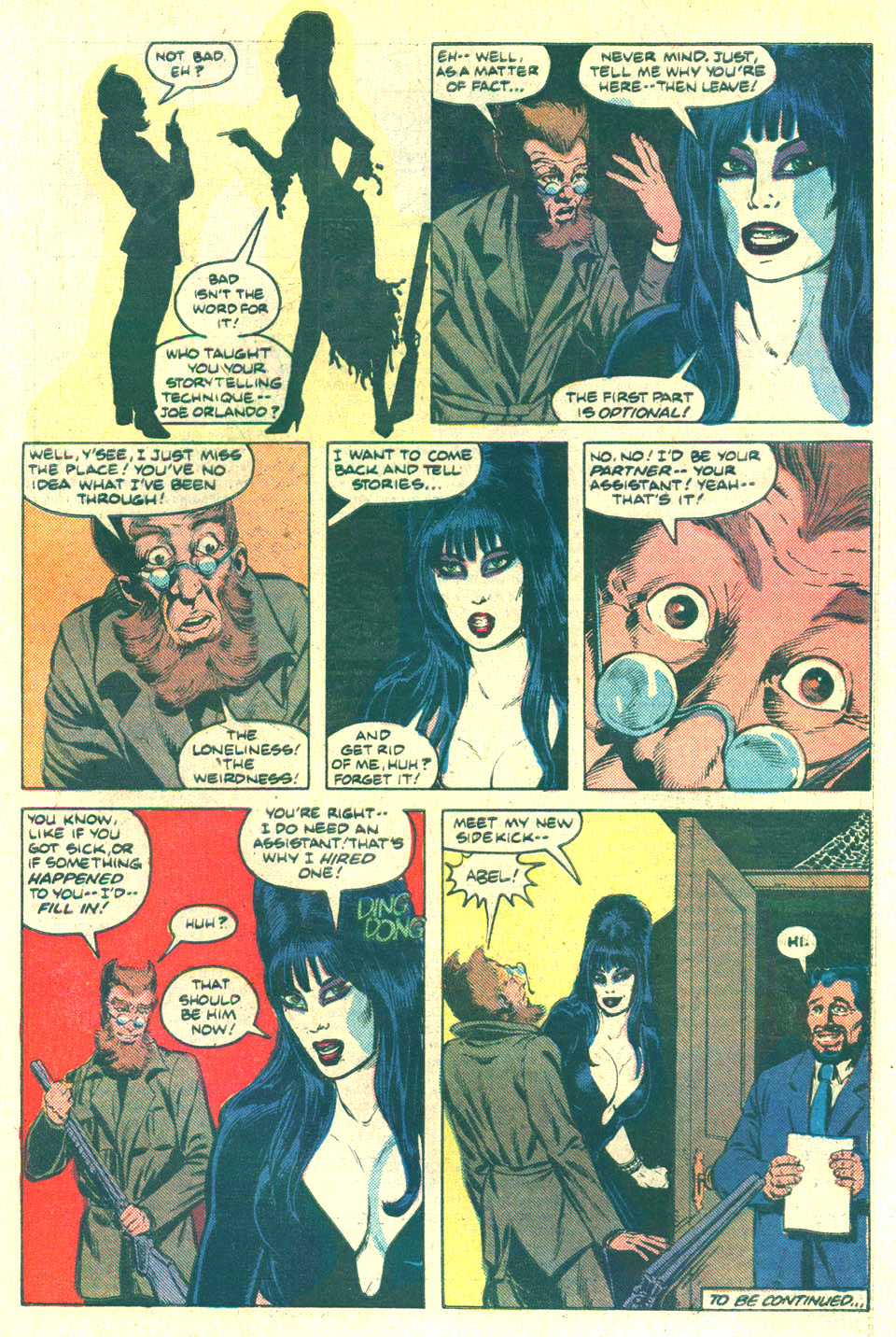 Elvira's House of Mystery Issue #10 #11 - English 22